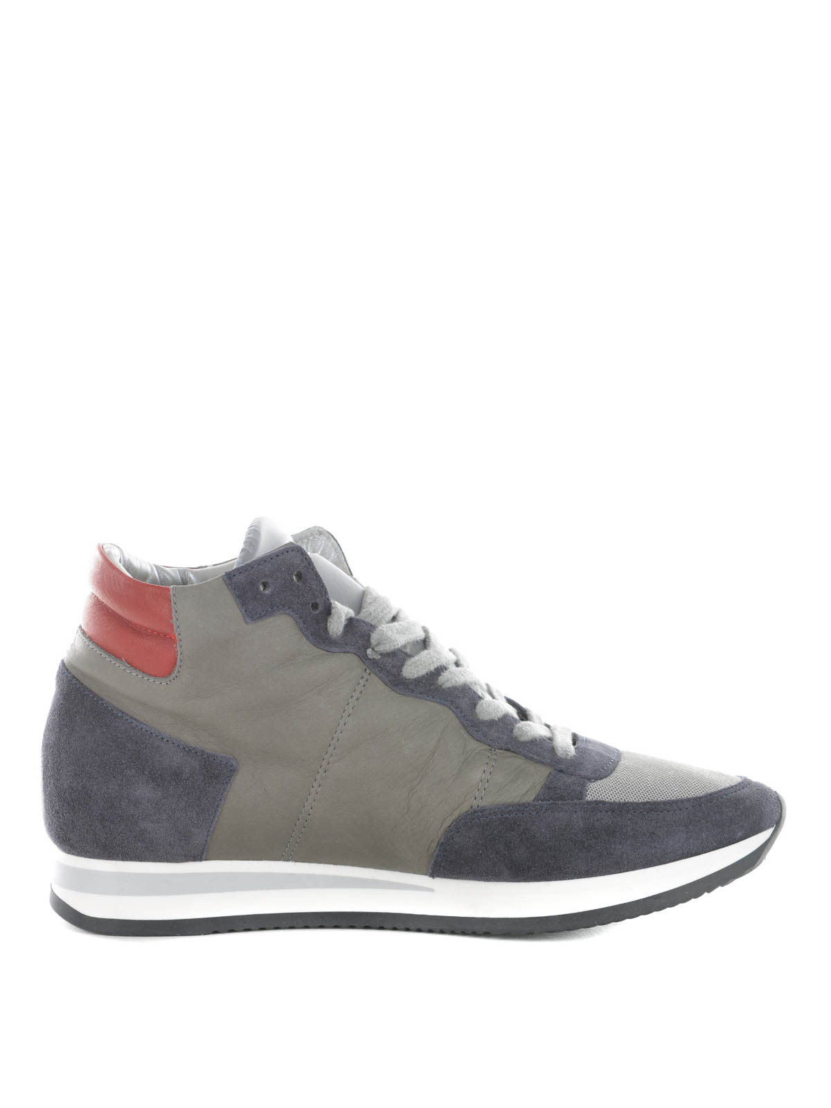 tropez high world hi top sneakers by philippe model trainers ikrix. Black Bedroom Furniture Sets. Home Design Ideas