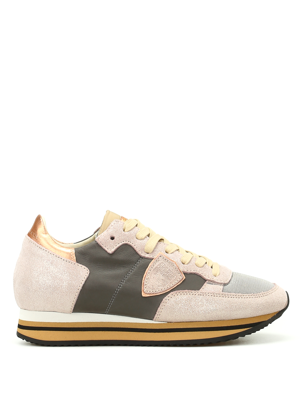tropez pearly sneakers by philippe model trainers ikrix. Black Bedroom Furniture Sets. Home Design Ideas