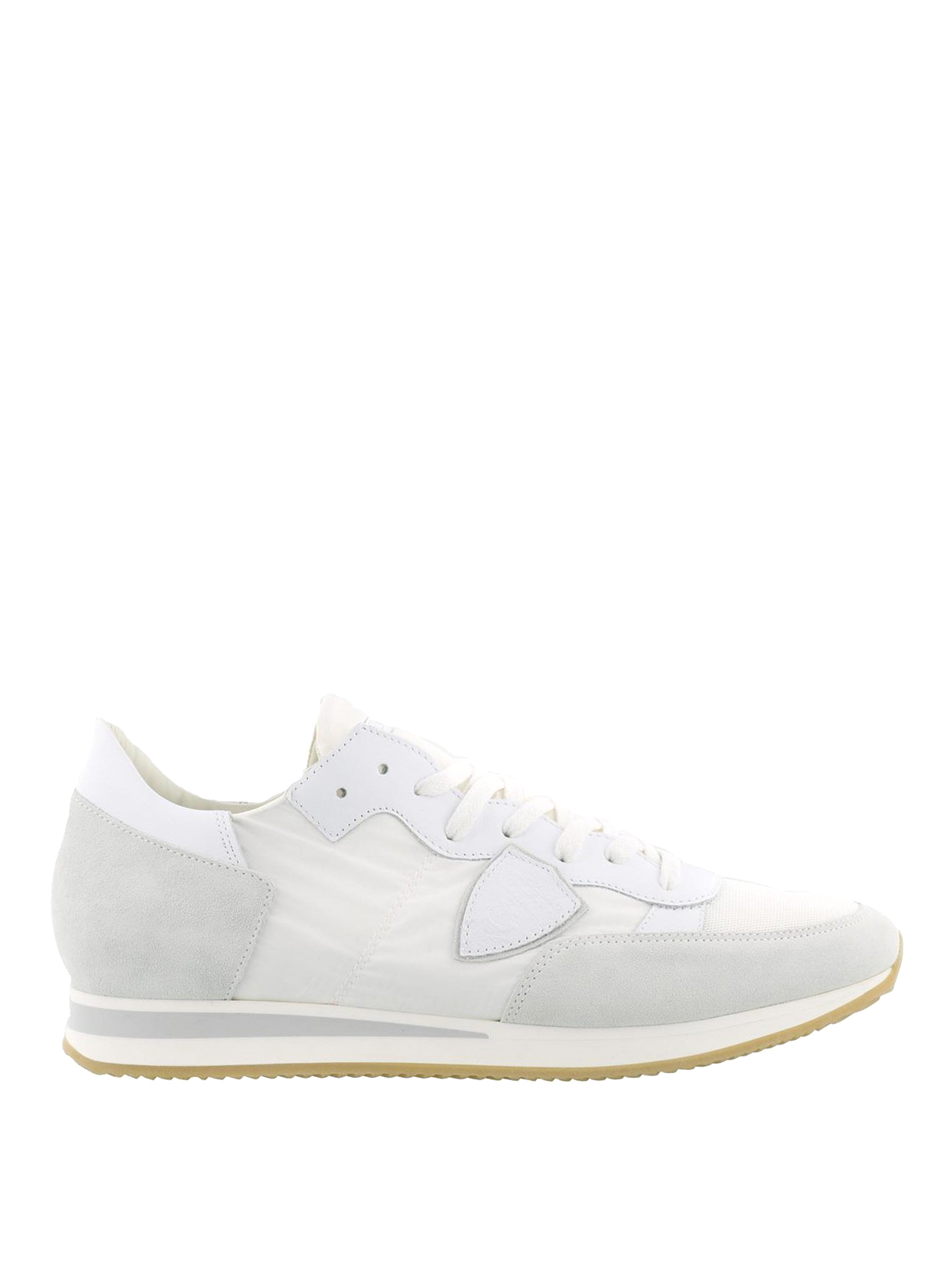 Philippe Model - Tropez white suede sneakers - trainers - TRLU 1101 7badb9eb763