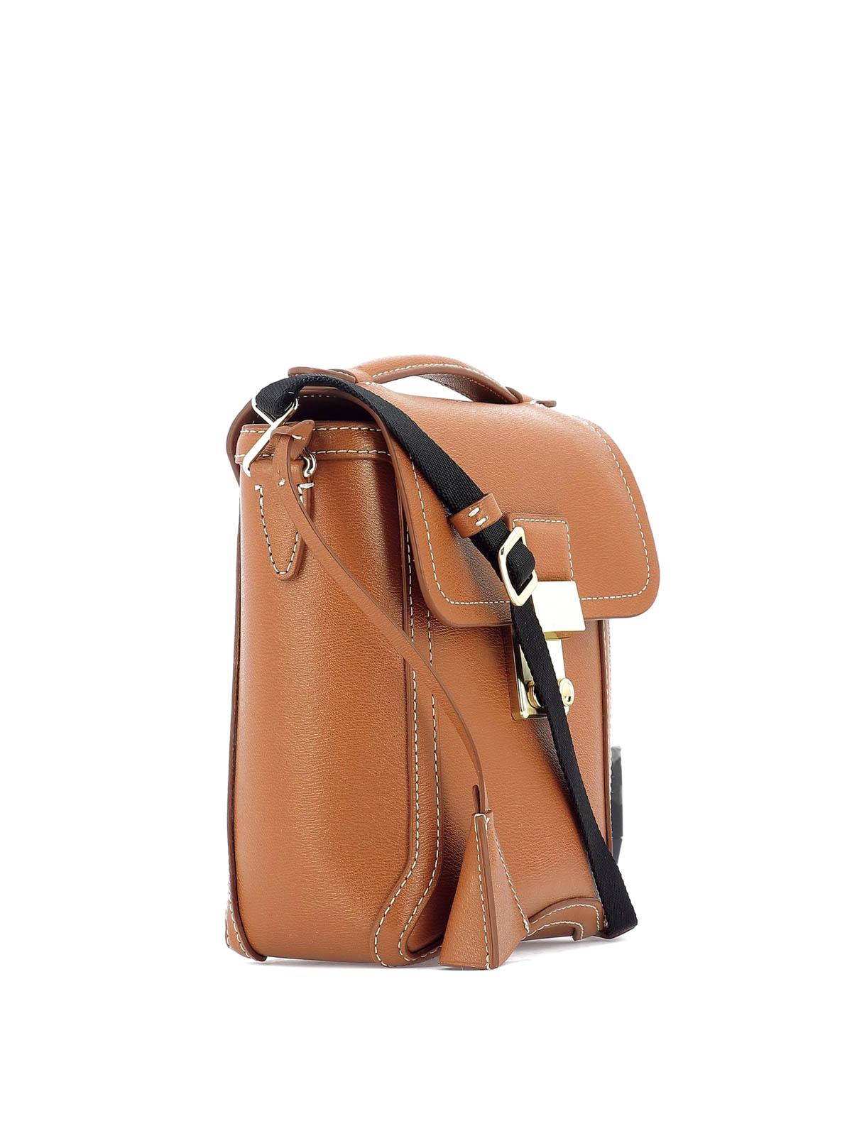 86dfe7cacb PHILLIP LIM: borse a tracolla online - Tracolla Pashli in pelle color cuoio