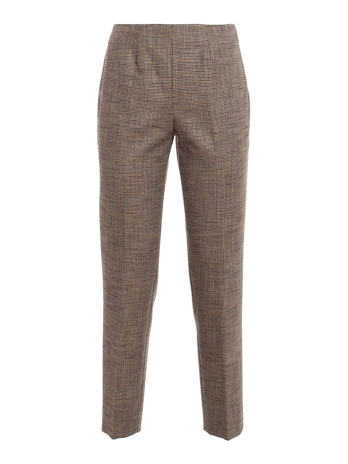 Piazza Sempione Silks HOUNDSTOOTH TROUSERS