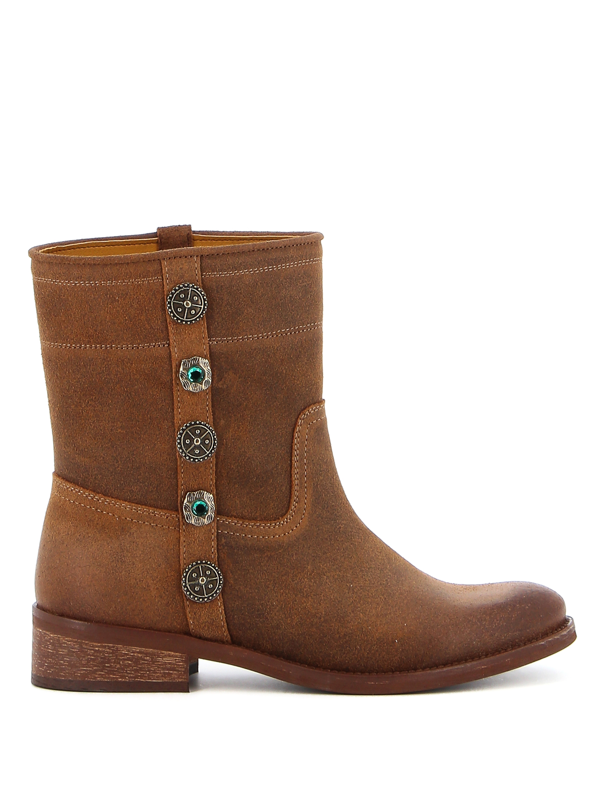 Pinko OXALIS 1 SUEDE ANKLE BOOTS