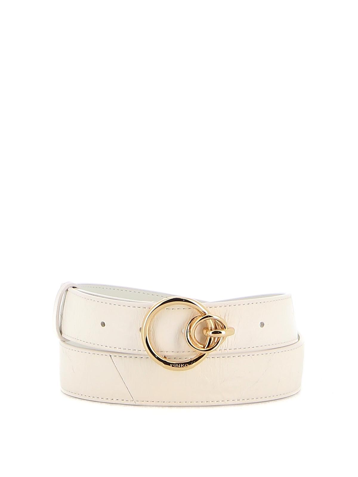 Pinko Belts LEATHER LOVELINK BELT
