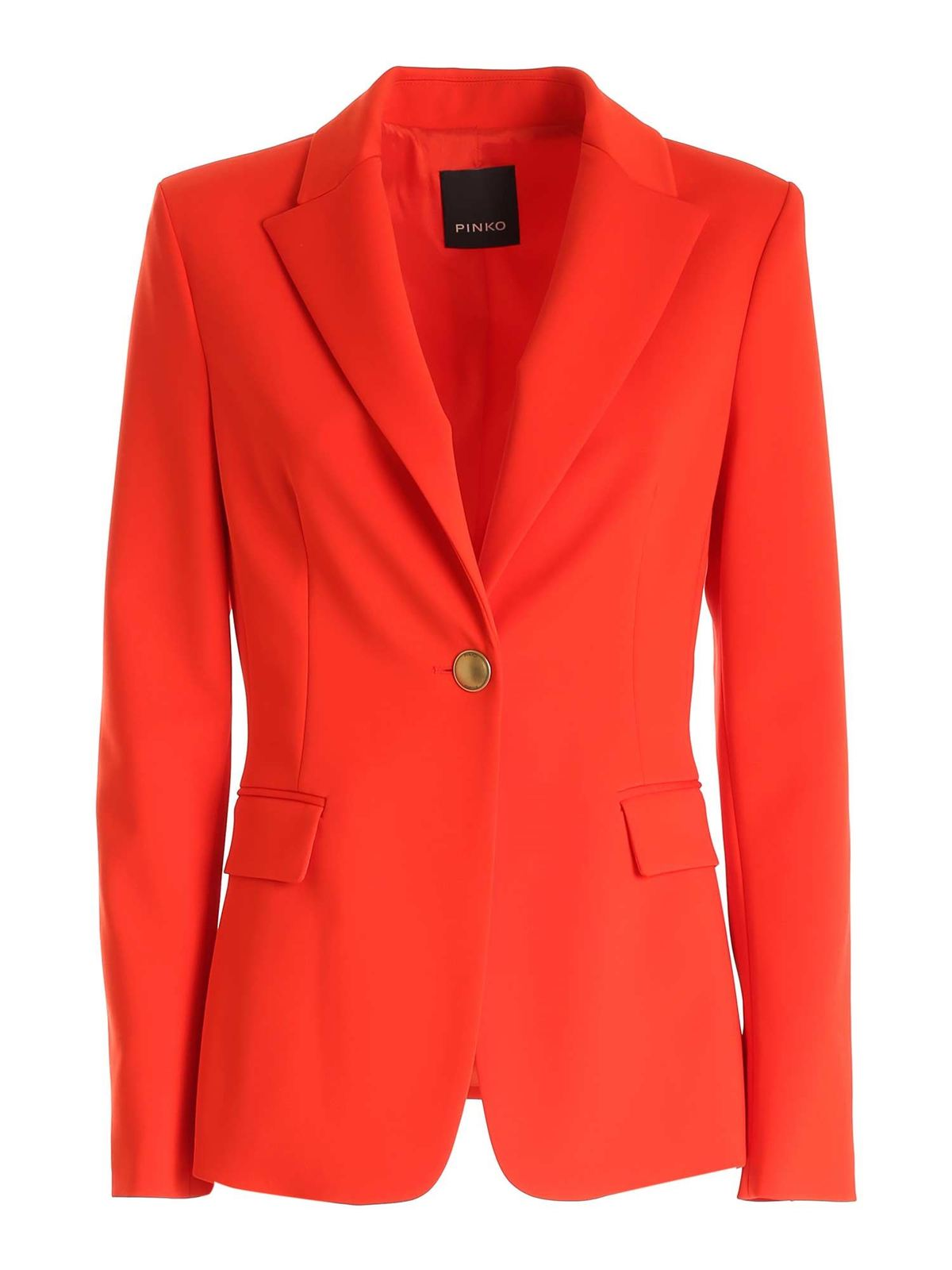 Pinko Linings SIGMA 2 JACKET IN RED