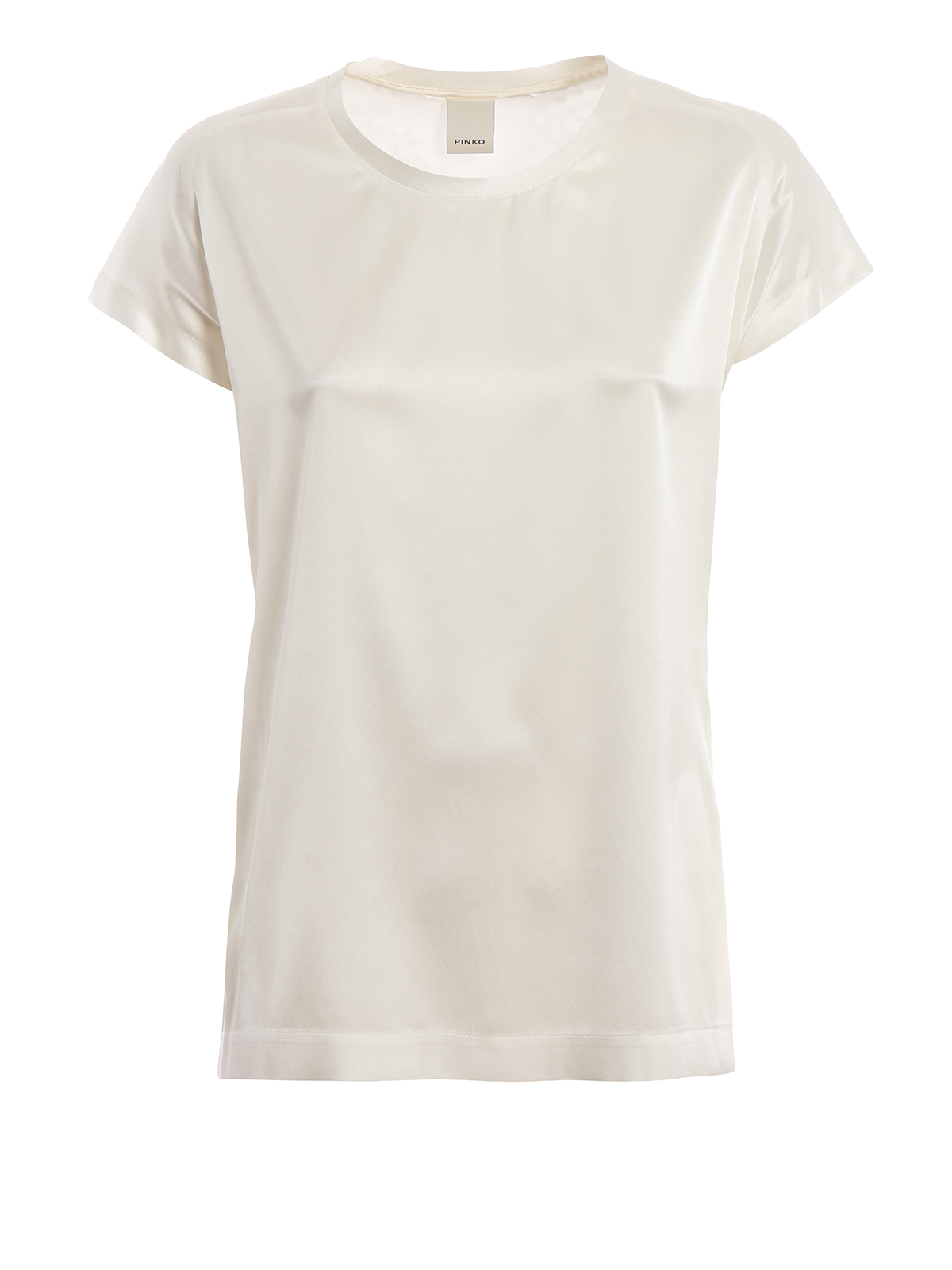 371ea953661 Pinko - Farisa 11 stretch silk satin blouse - blouses - 1G1419Y4FGZ10
