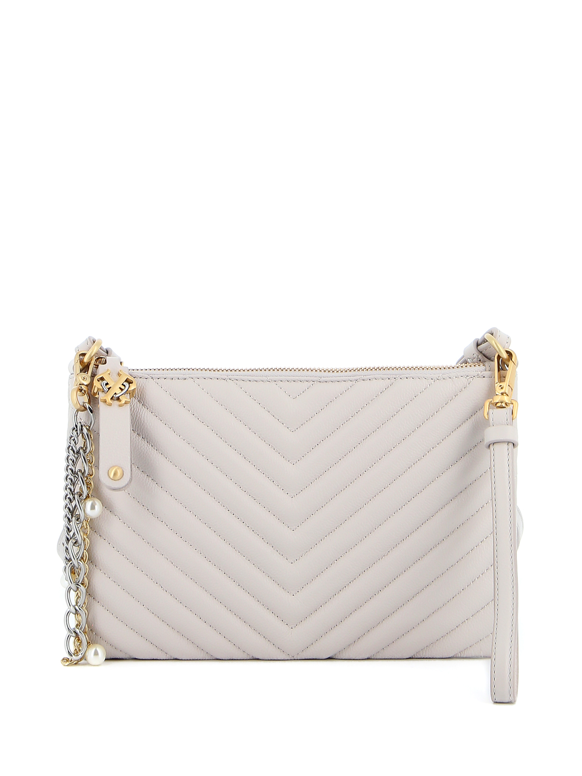 Pinko DOUBLE P FLAT CROSS BODY BAG