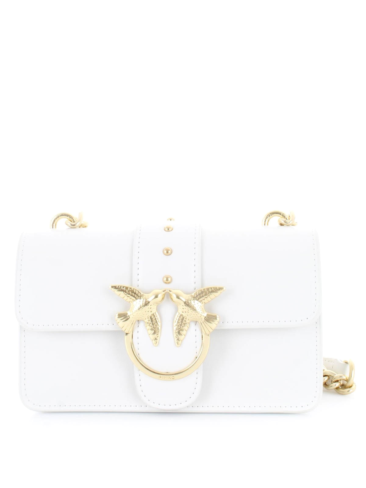 c94588f7165 Pinko - Mini Love Bag Simply white crossbody - cross body bags ...
