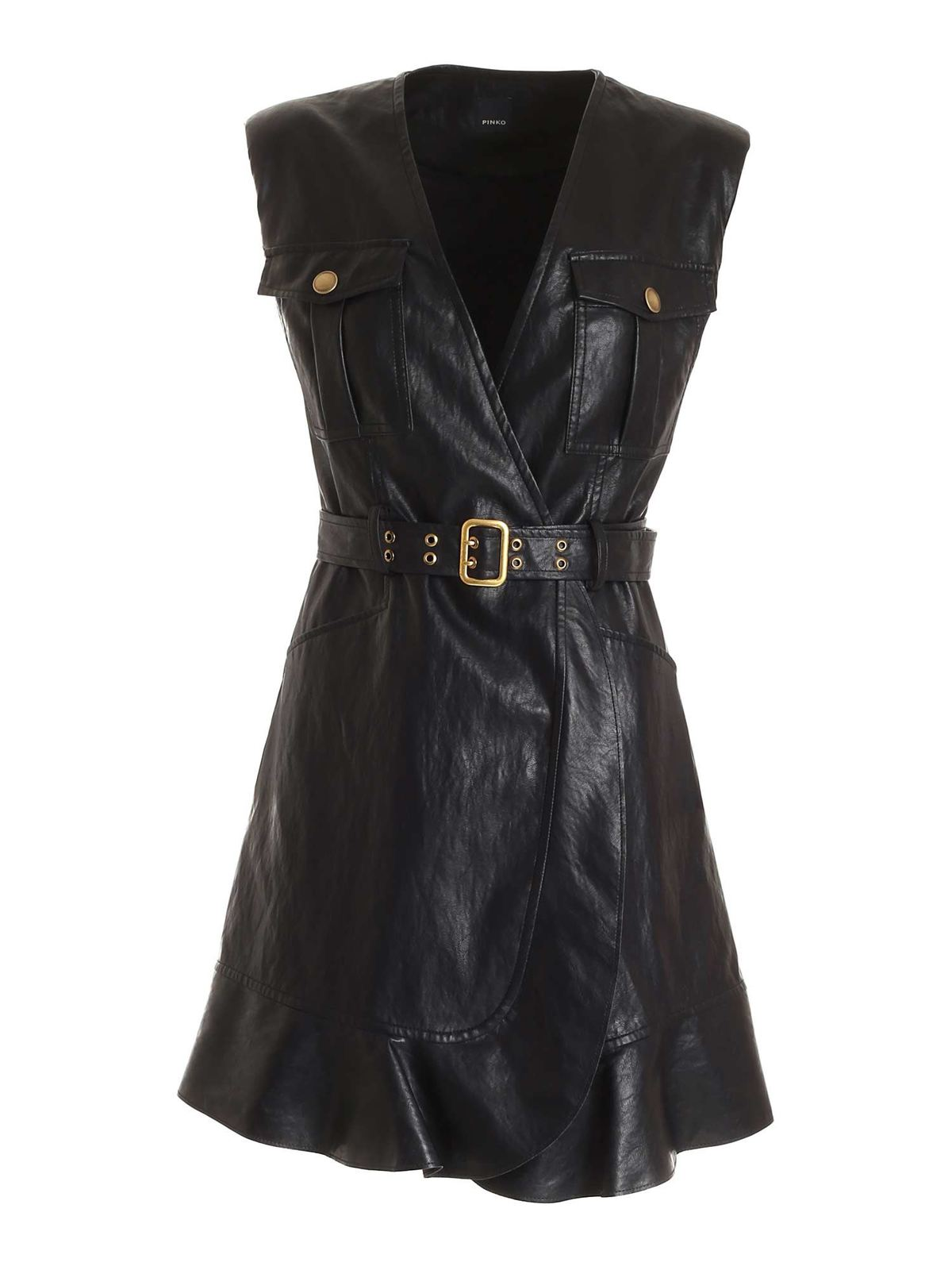 Pinko ATTIVO DRESS IN BLACK