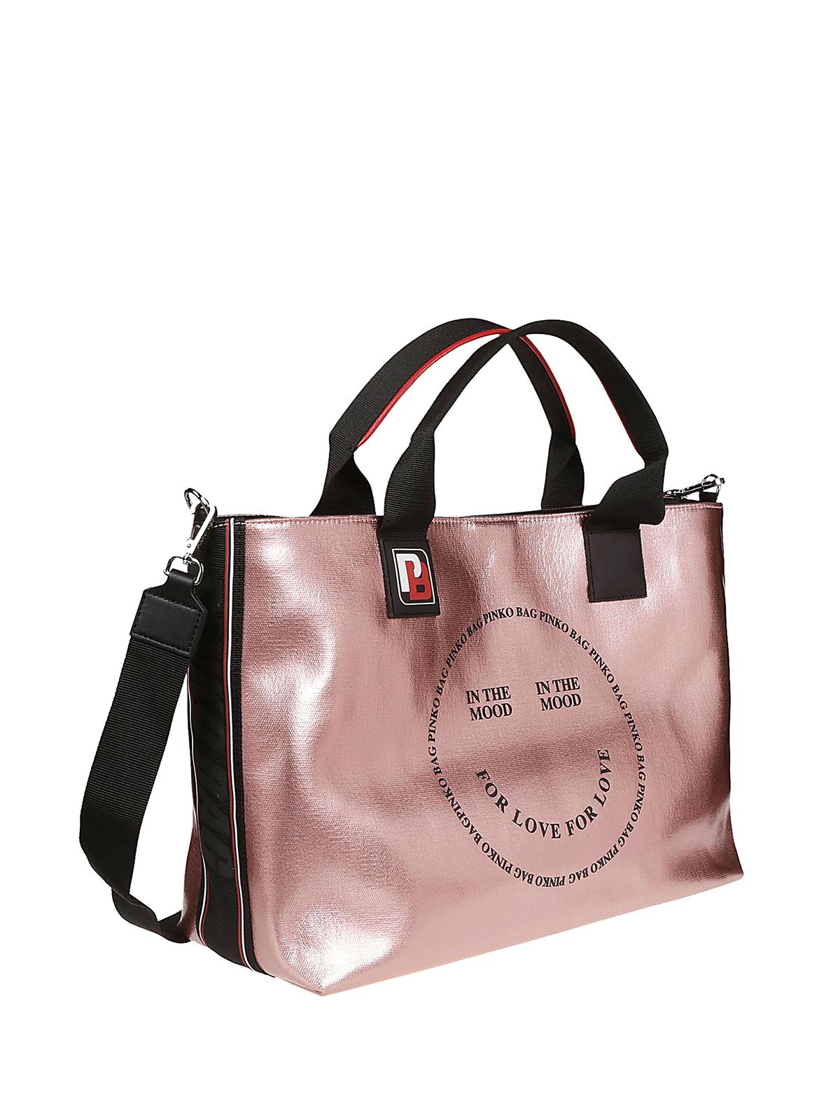 258cf2ab6e3d5 Pinko - In The Mood For Love - Rosado - Bolsos Shopping - 1H20KP ...