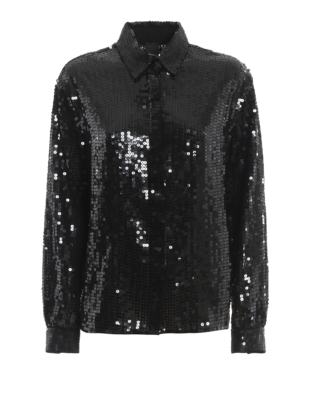Pinko Camicia Alta Marea con paillettes all over camicie
