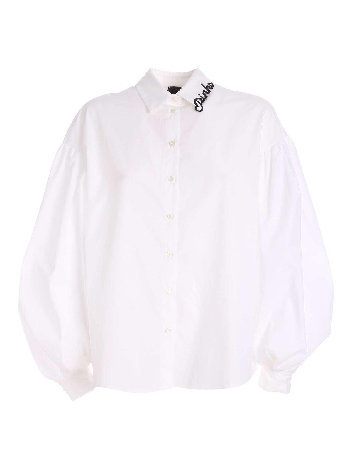 Pinko RAGIONERIA T-SHIRT IN WHITE