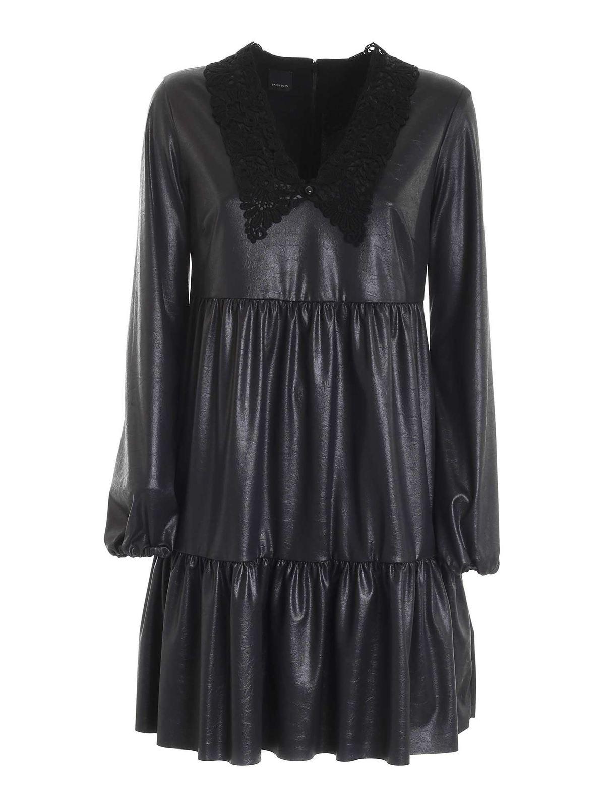 PINKO BABEL DRESS IN BLACK