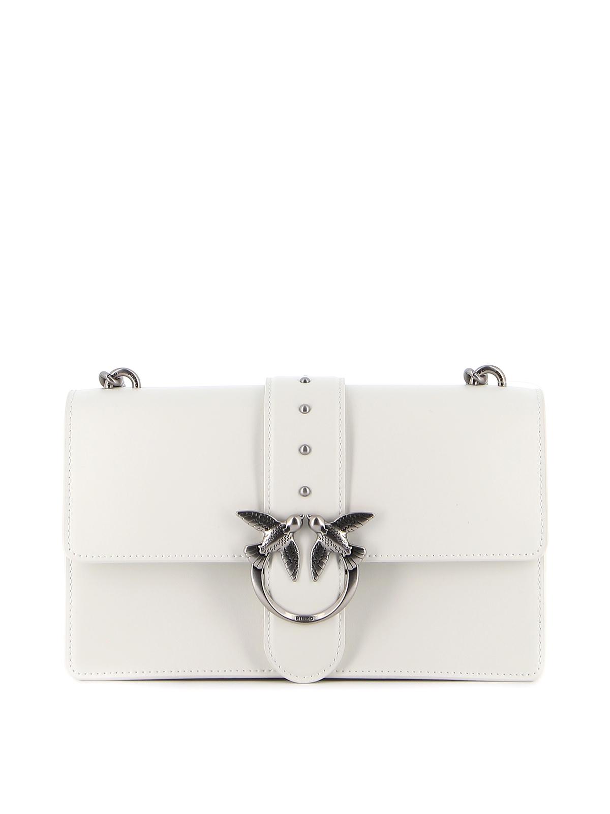 Pinko Love Icon Bag In White