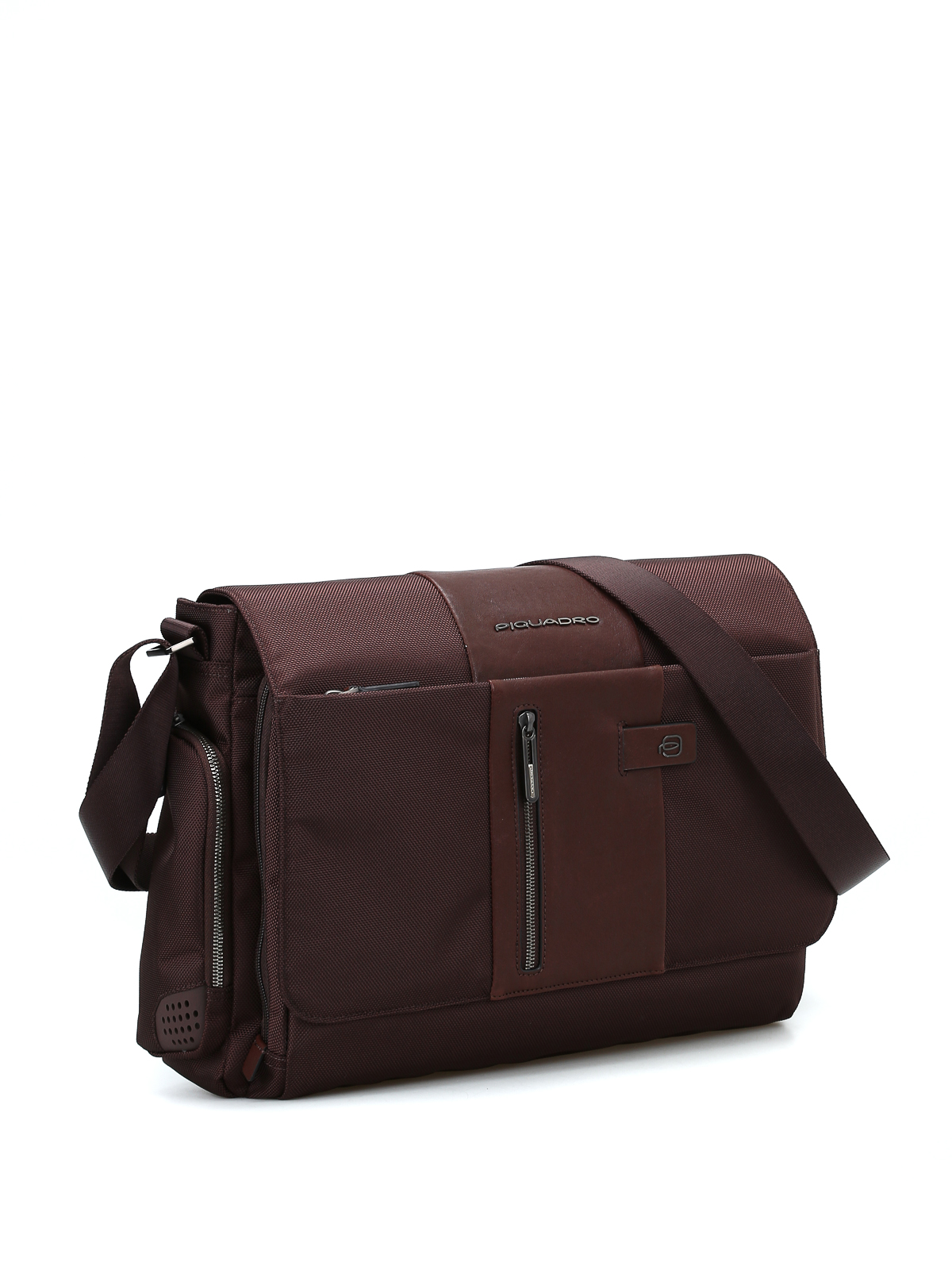 12fb37382ca PIQUADRO  shoulder bags online - Techno fabric and leather messenger