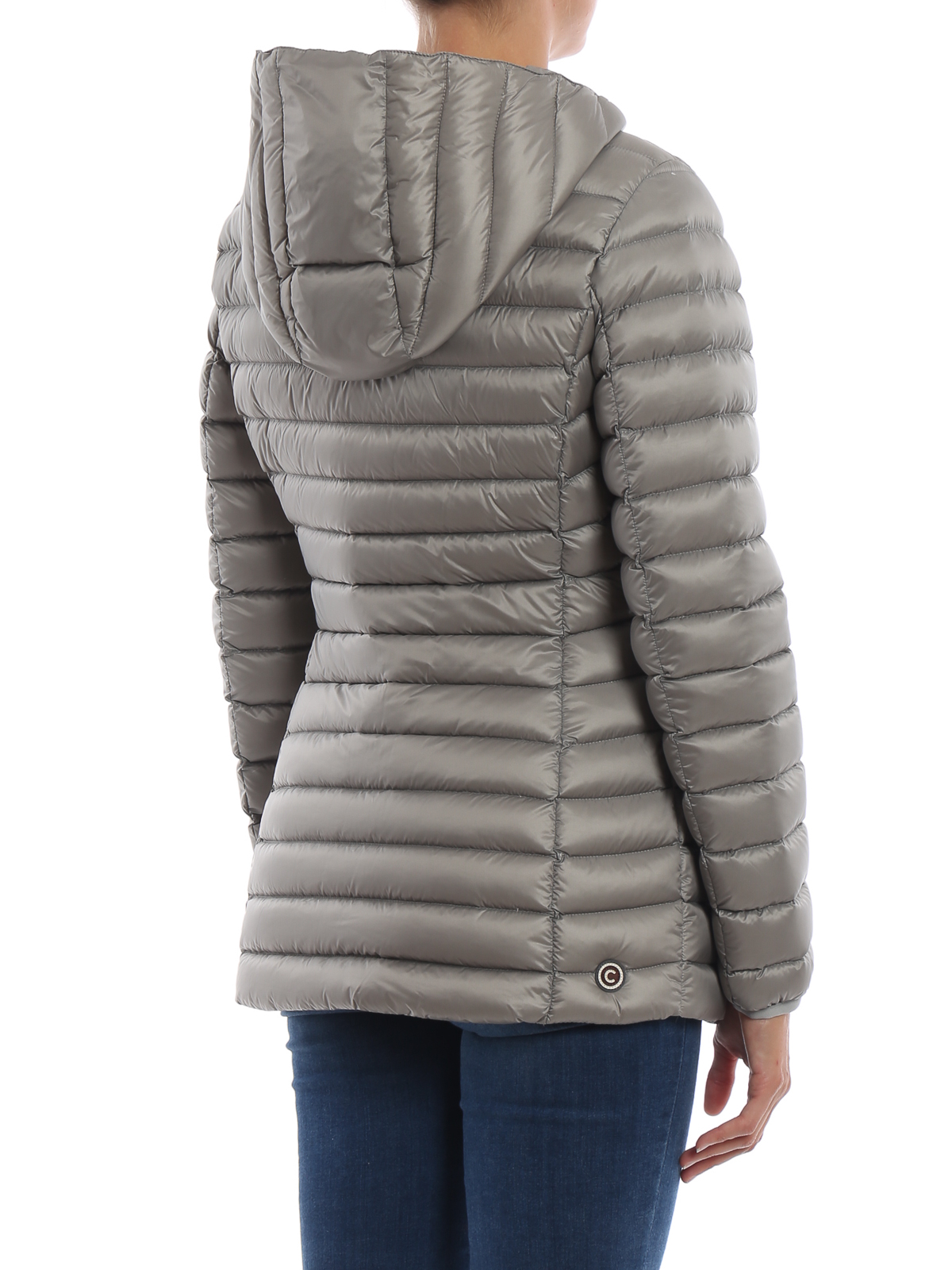 91b641bdd3b Colmar Originals - Place shadow grey hooded puffer jacket - padded ...