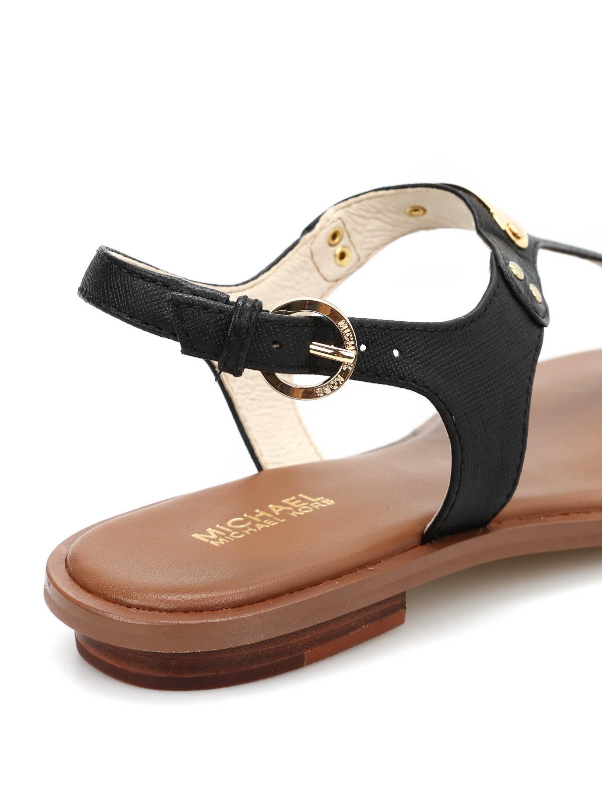 df7cd874f835 Michael Kors - Plate Thong sandals - sandals - 40U2MKFA2L 001 ...