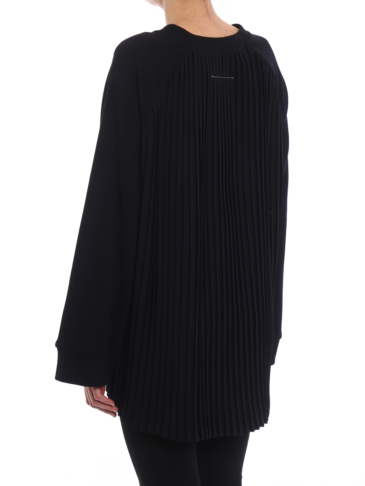 Mm6 Maison Margiela pleated back sweatshirt Buy Cheap Amazing Price Brand New Unisex Cheap Price Outlet Great Deals Cheap Price Outlet Get To Buy For Sale PosarXR