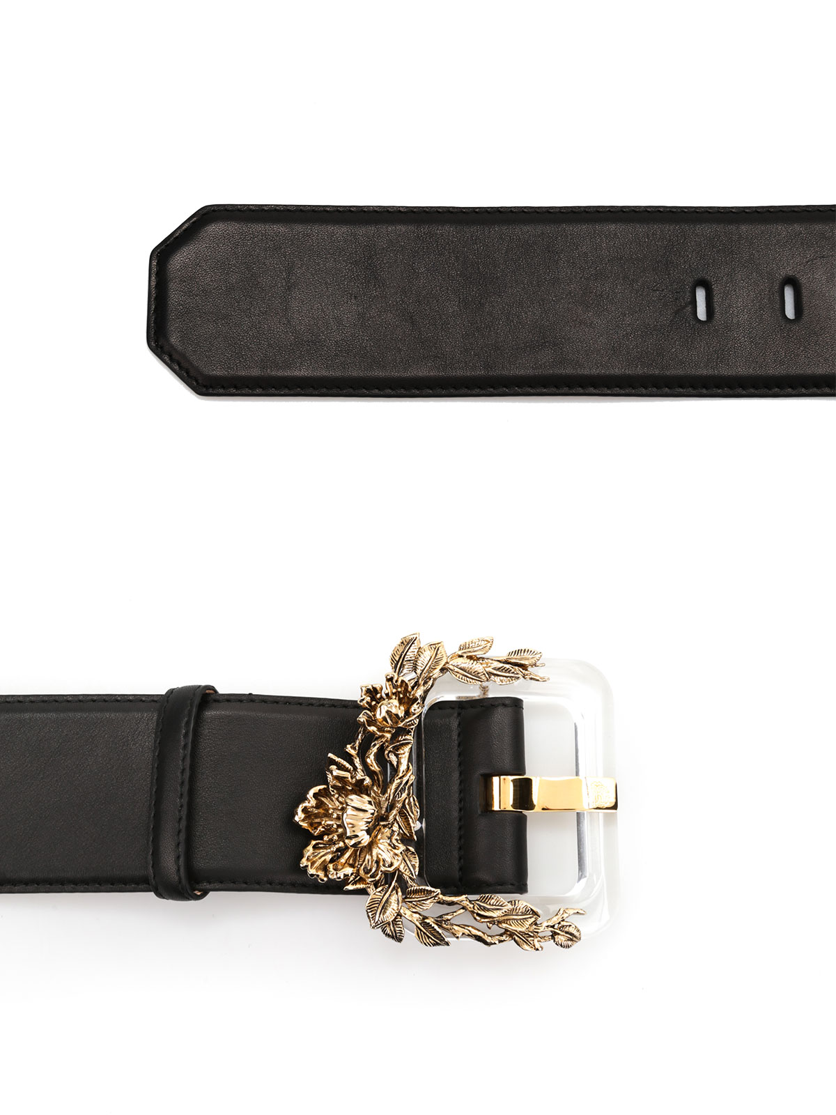plexi blossom leather belt by roberto cavalli belts ikrix