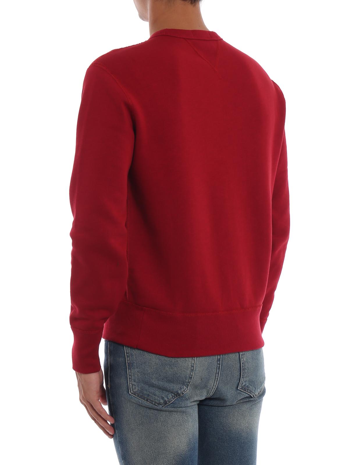 Polo Ralph Lauren - Polo 1967 red sweatshirt - Sweatshirts ... 1bc05cadbb9d