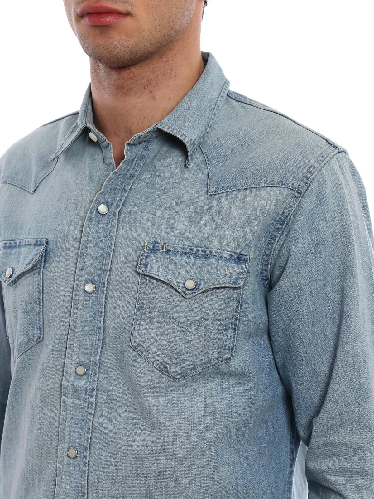 new arrival bef09 de19a Polo Ralph Lauren - Camicia di jeans classica - camicie ...