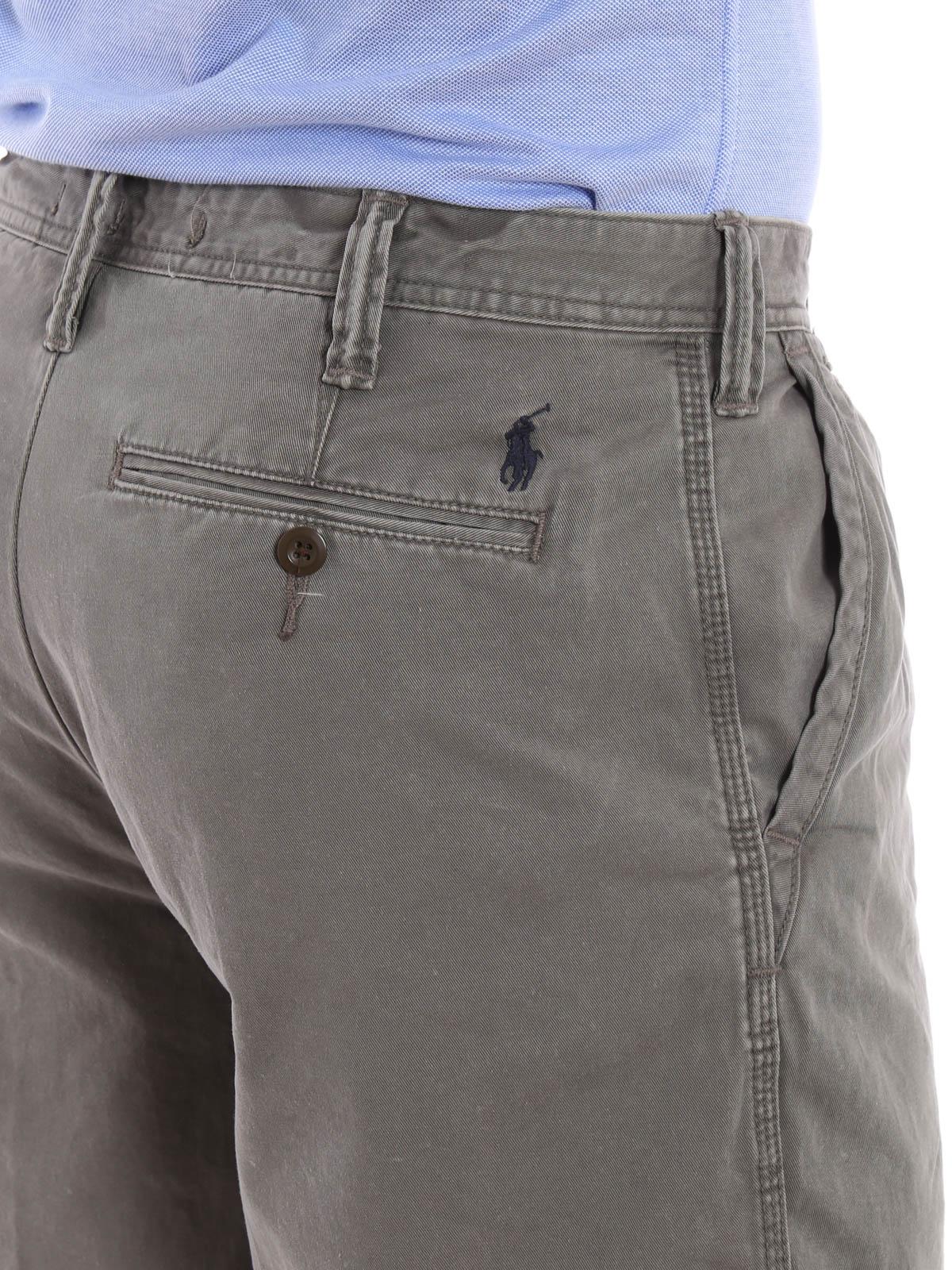 87b2e2171a94e4 Polo Ralph Lauren - Shorts Fur Herren - Grau - Hosen Shorts ...