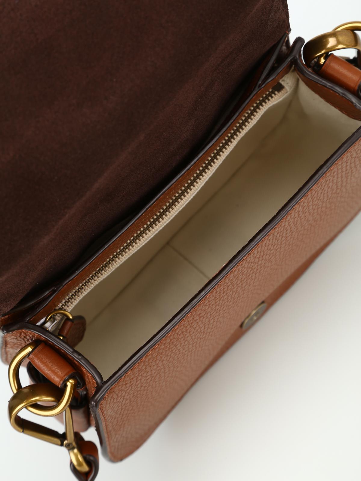 da2b9e7898bc POLO RALPH LAUREN buy online Hammered leather saddle bag · POLO RALPH LAUREN   cross body bags ...