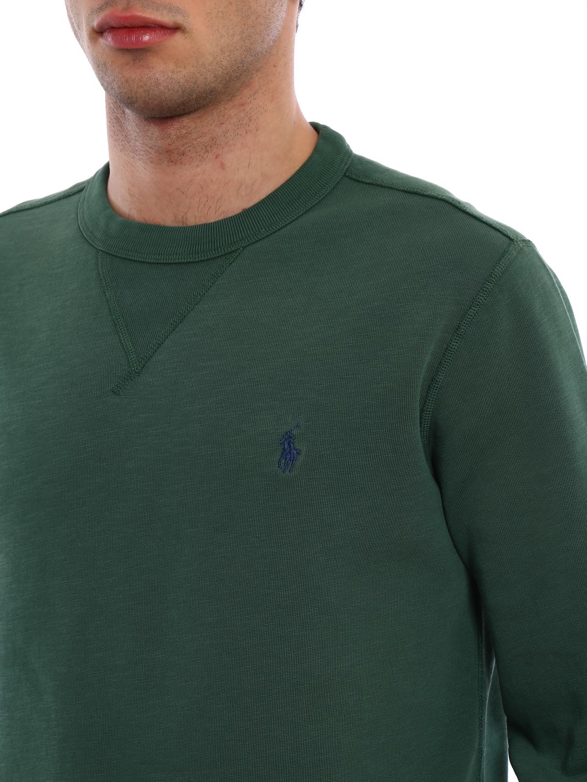 billig werden ausgewähltes Material Rabatt Polo Ralph Lauren - Sweatshirt - Grün - Sweatshirts und ...
