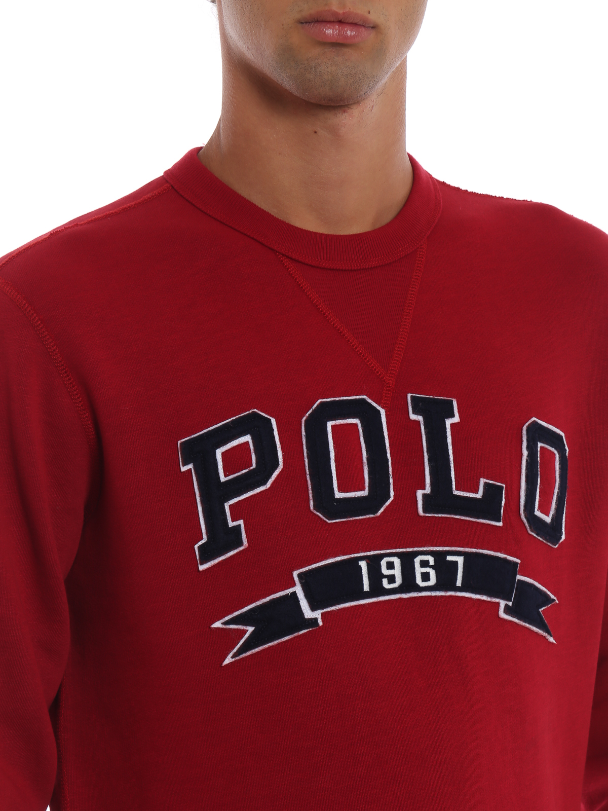 the latest 33bc4 e9880 Polo Ralph Lauren - Felpa rossa Polo 1967 - Felpe e maglie ...