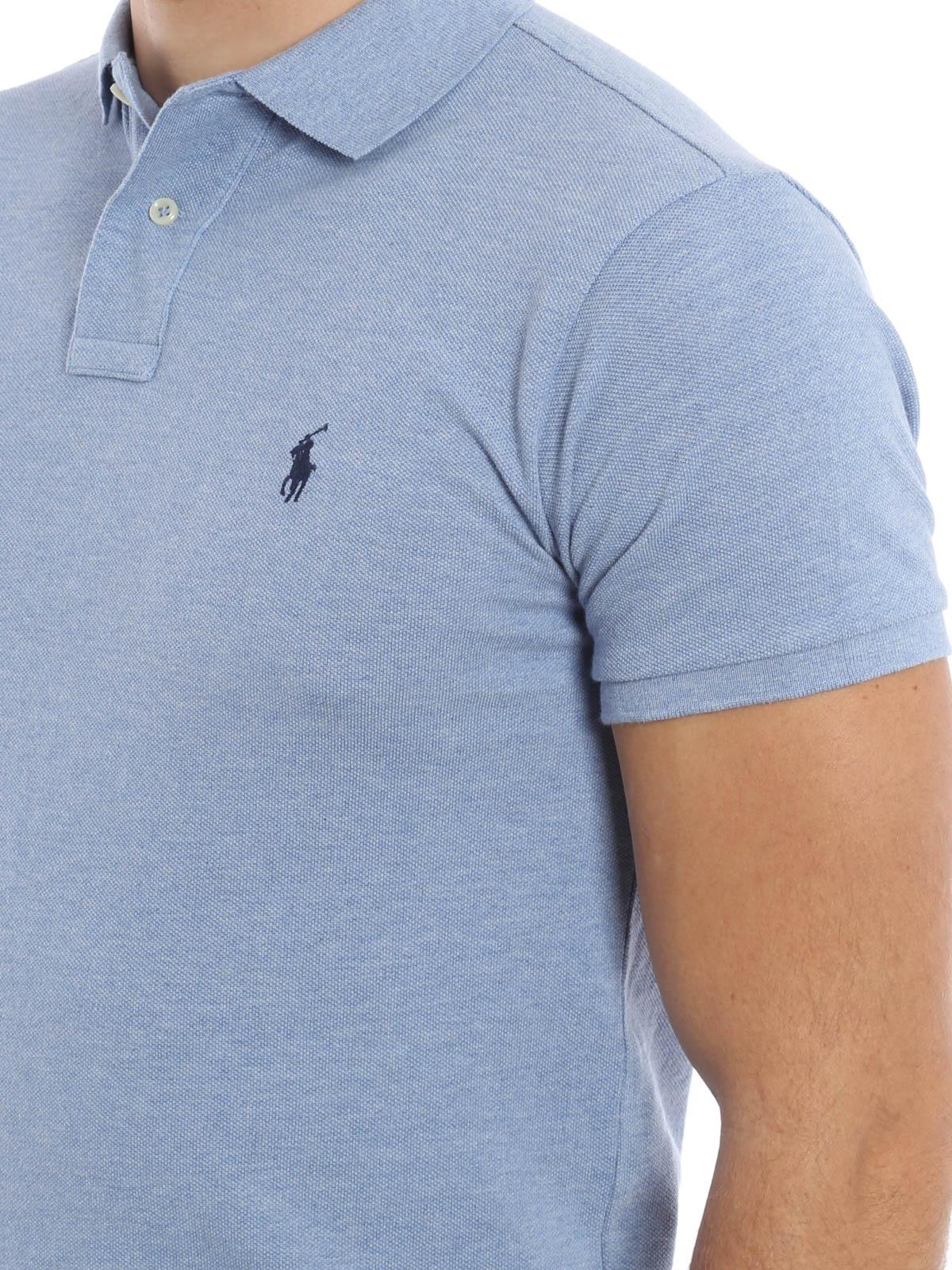 brand new ed273 7a2a3 Polo Ralph Lauren - Poloshirt Fur Herren - Hellblau ...