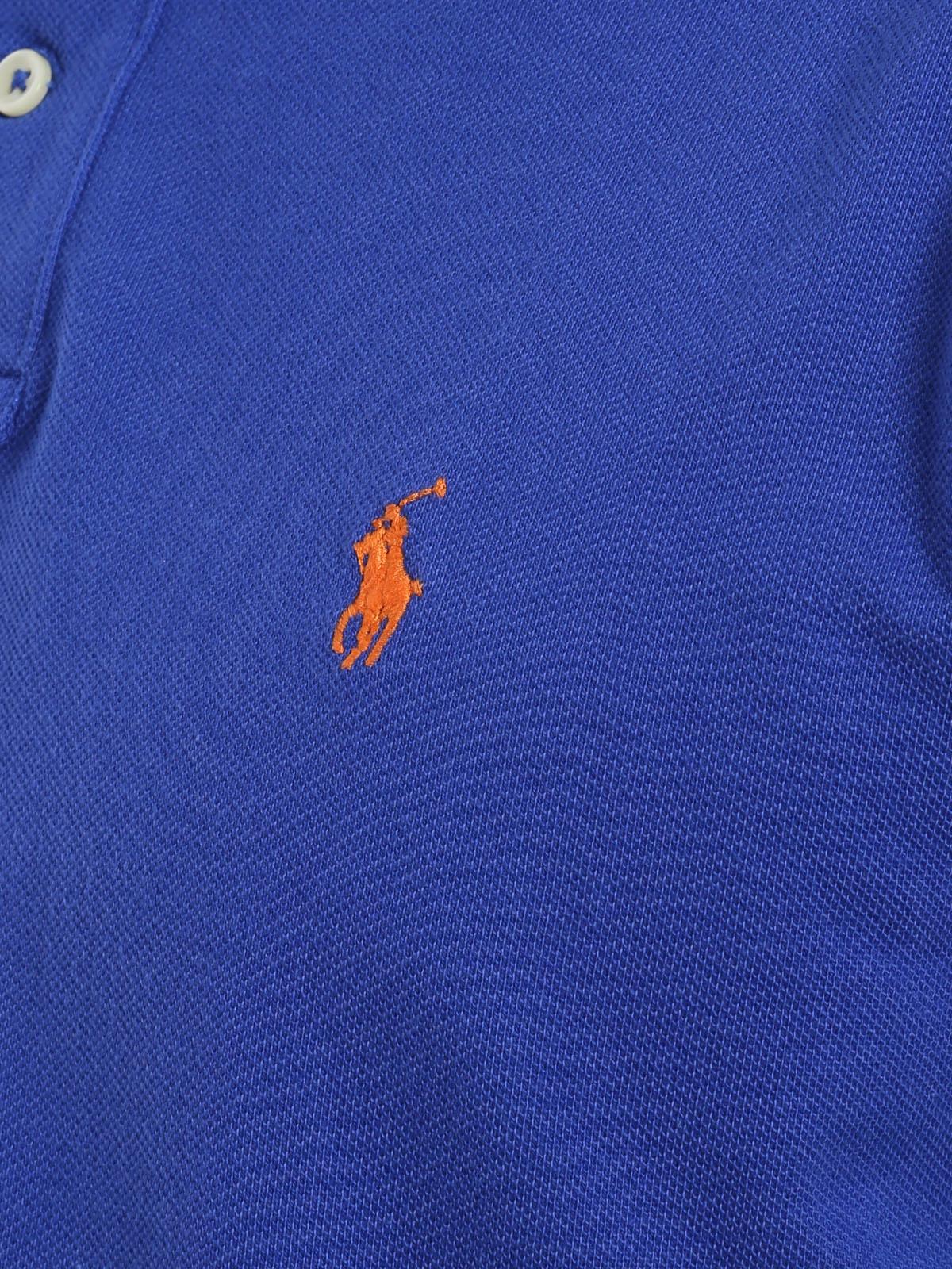 buy online c3c41 15765 Polo Ralph Lauren - Poloshirt Fur Herren - Blau - Poloshirts ...