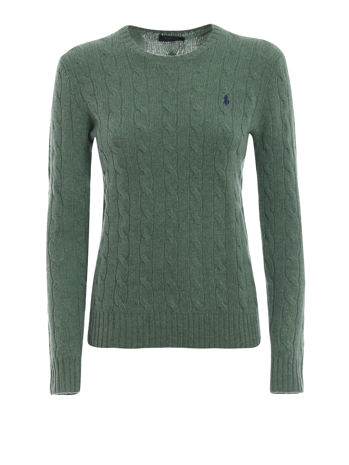 d75aeb24ed4e Polo Ralph Lauren - Pull Col Rond - Vert - Pull col rond - 211525764052