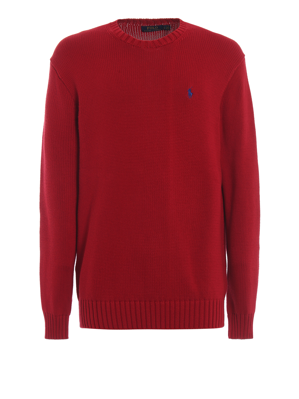 Col Ralph Lauren Pull 710727573005 Polo Rond Rouge 0OP8knw