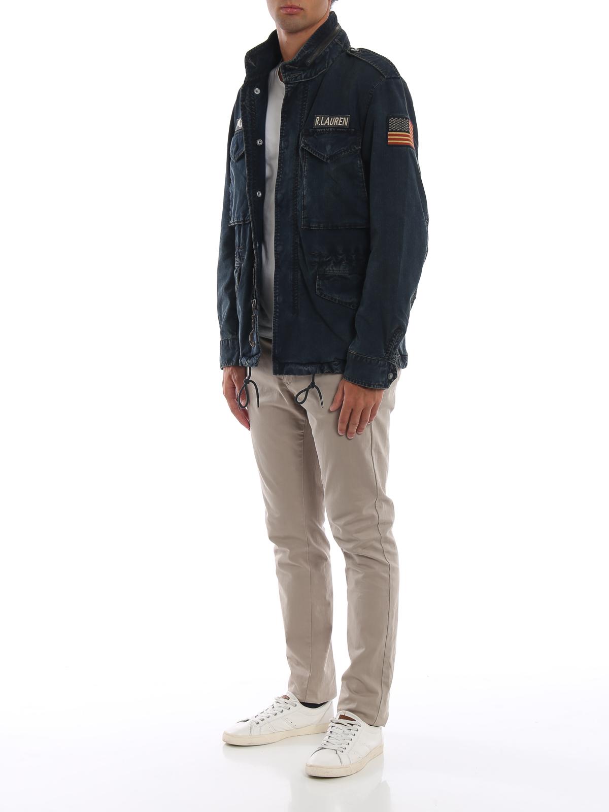 Polo Ralph Lauren - Denim field jacket - denim jacket ...