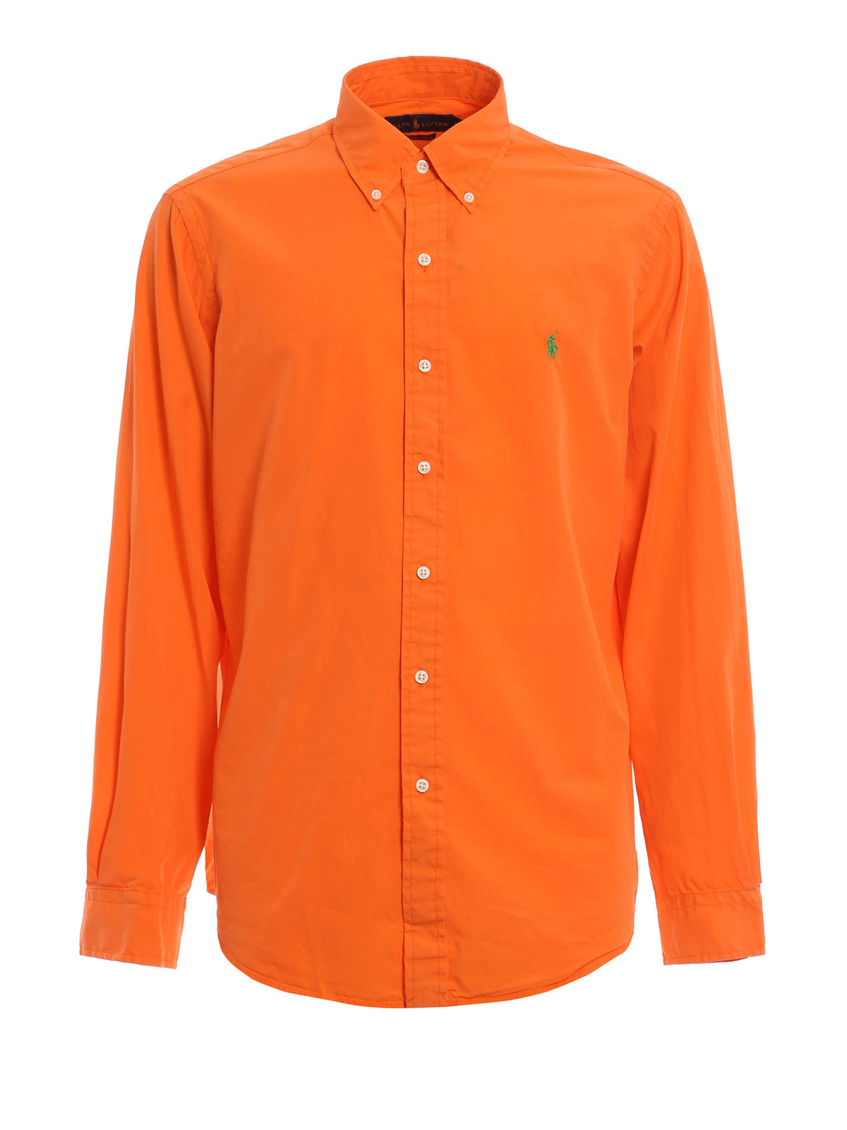 Cotton And Silk Shirt By Polo Ralph Lauren Shirts Ikrix