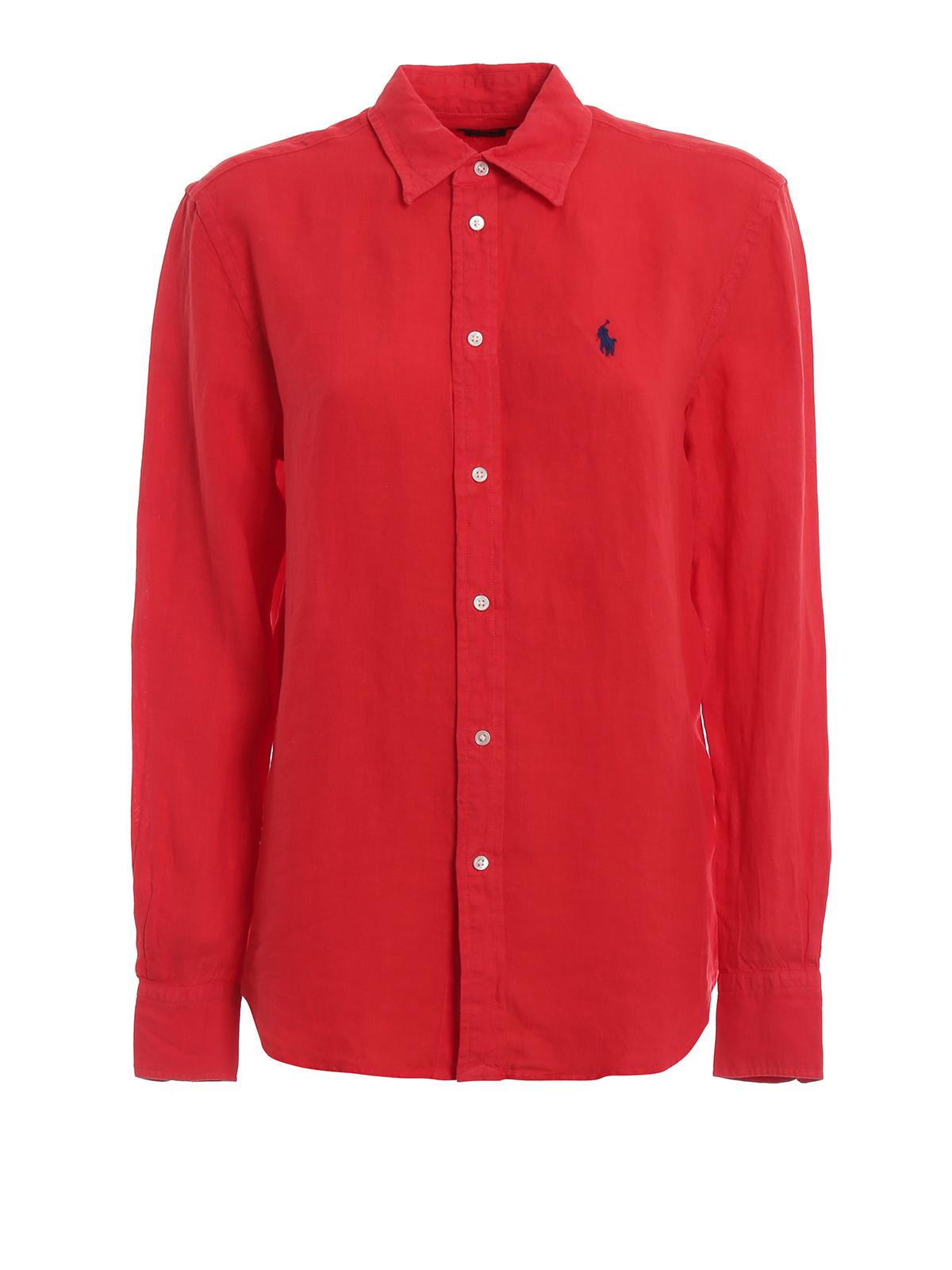 polo ralph lauren hemd rot hemden 211732637002. Black Bedroom Furniture Sets. Home Design Ideas