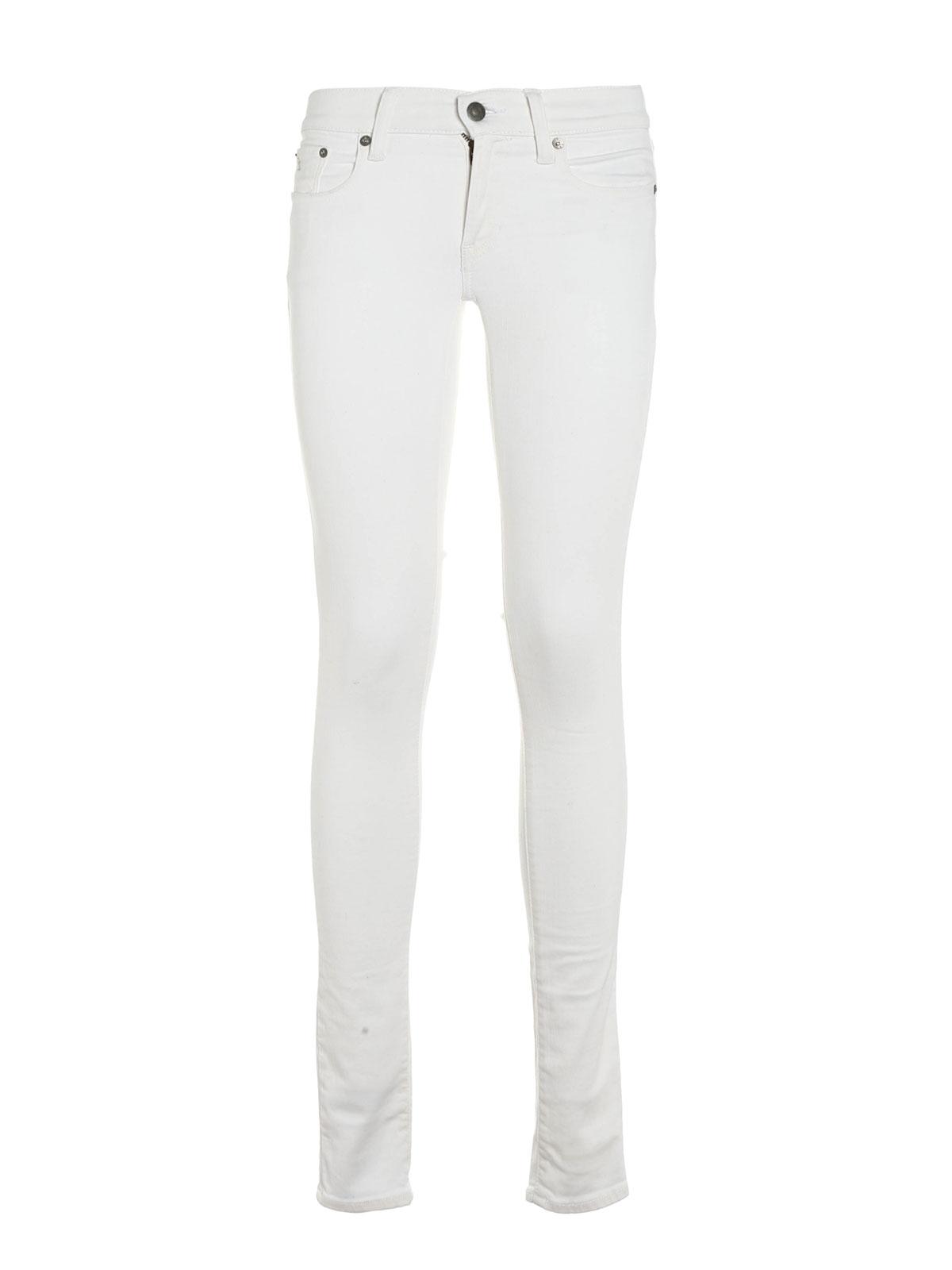 Femme Polo Ralph Jeans Jean Lauren Skinny Blanc Pour zSqUMVp