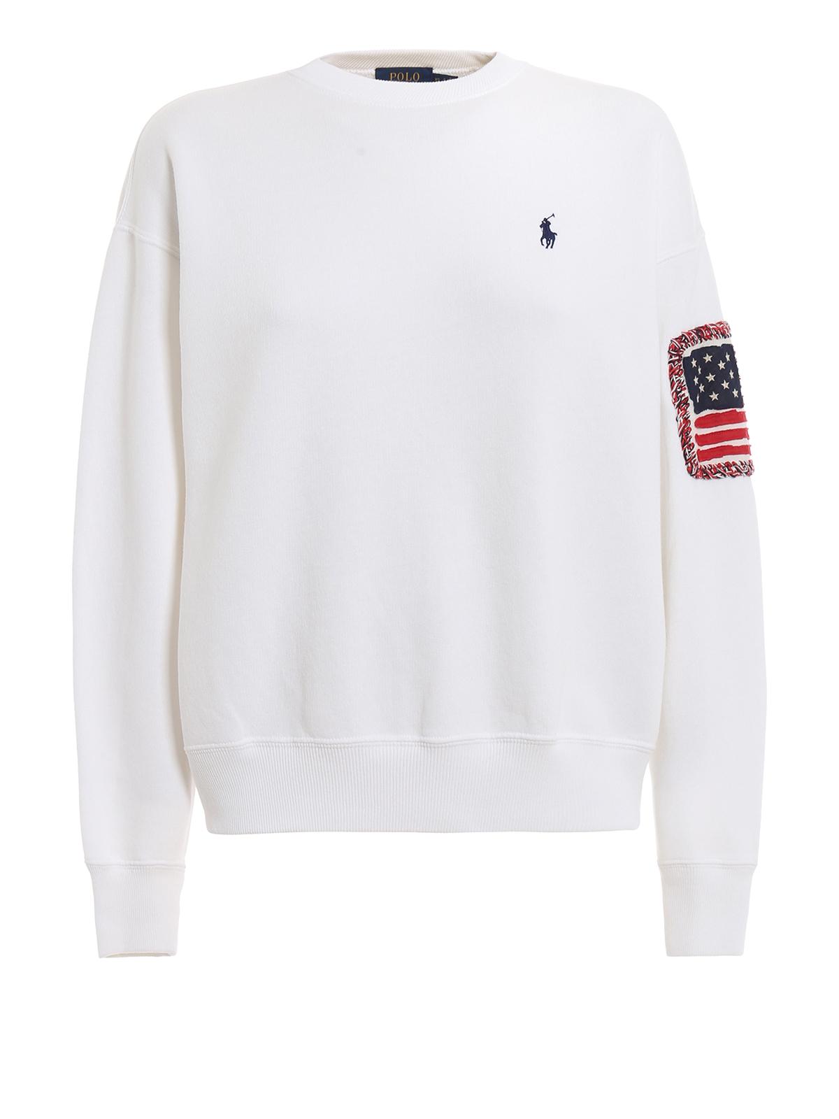 am billigsten neue angebote neue Season Polo Ralph Lauren - Sweatshirt - Weiß - Sweatshirts und ...