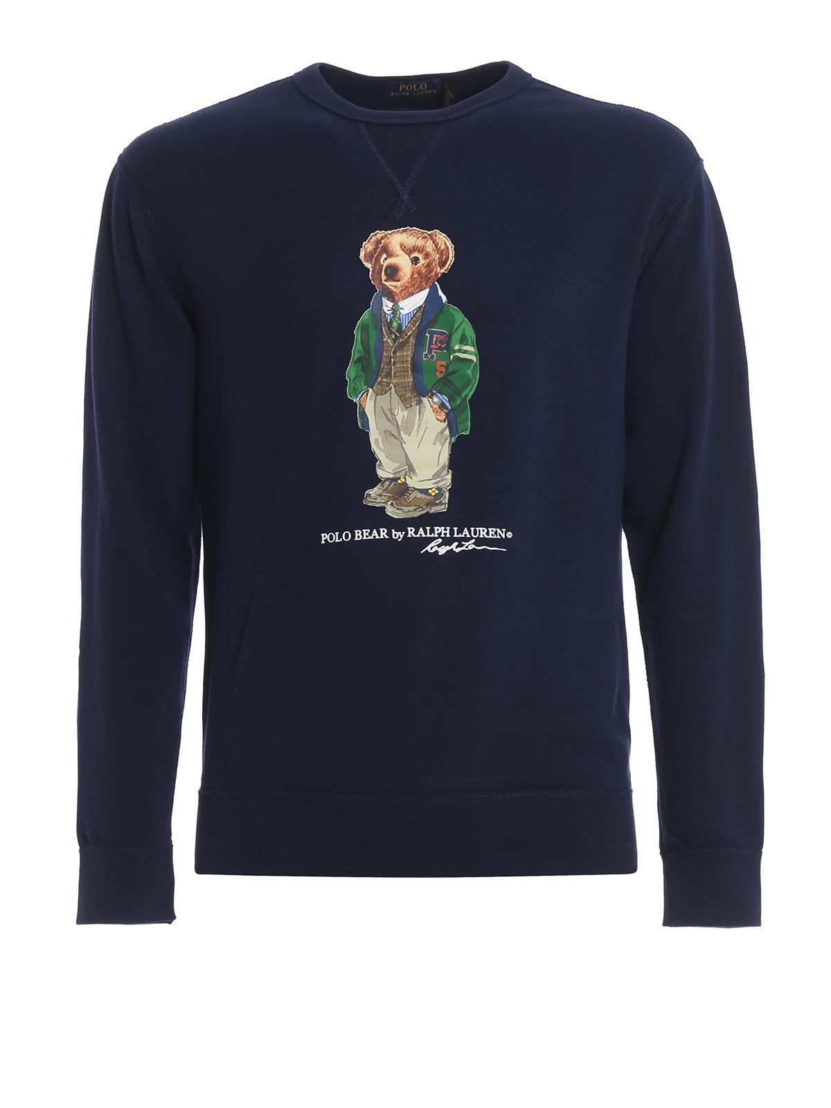 Pulls Sweat Shirts Bear Sweatshirtsamp; Polo Lauren Ralph jqLzVGpMSU
