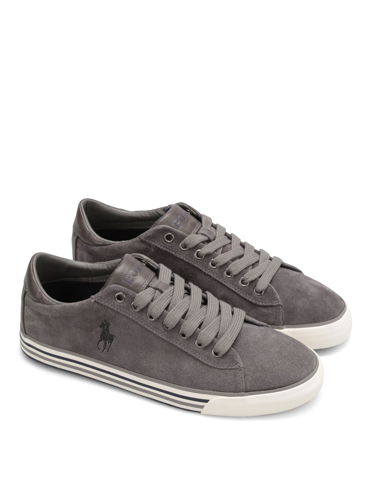 Trainers Lauren Ralph Y2058 Harvey A85 Polo Suede 80OPZnwkNX