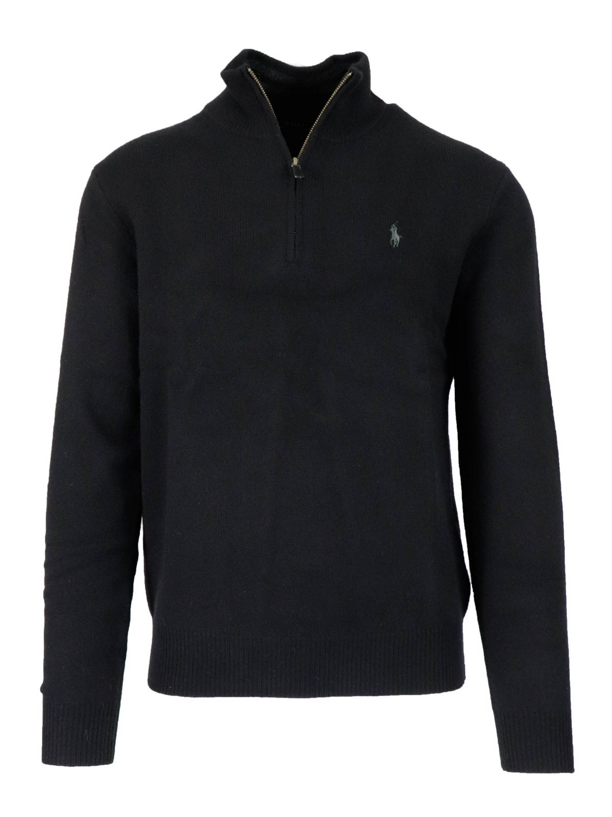 Polo Ralph Lauren ZIPPED WOOL BLEND TURTLENECK