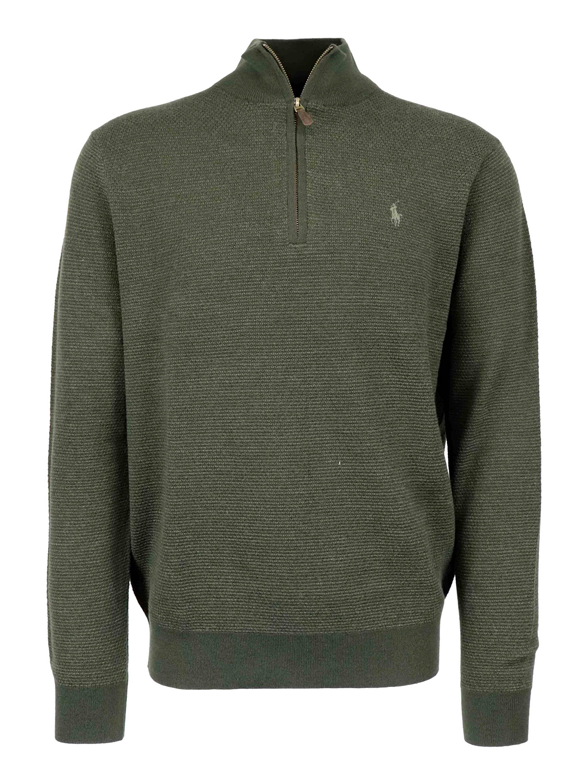 Polo Ralph Lauren ZIPPED WOOL TURTLENECK