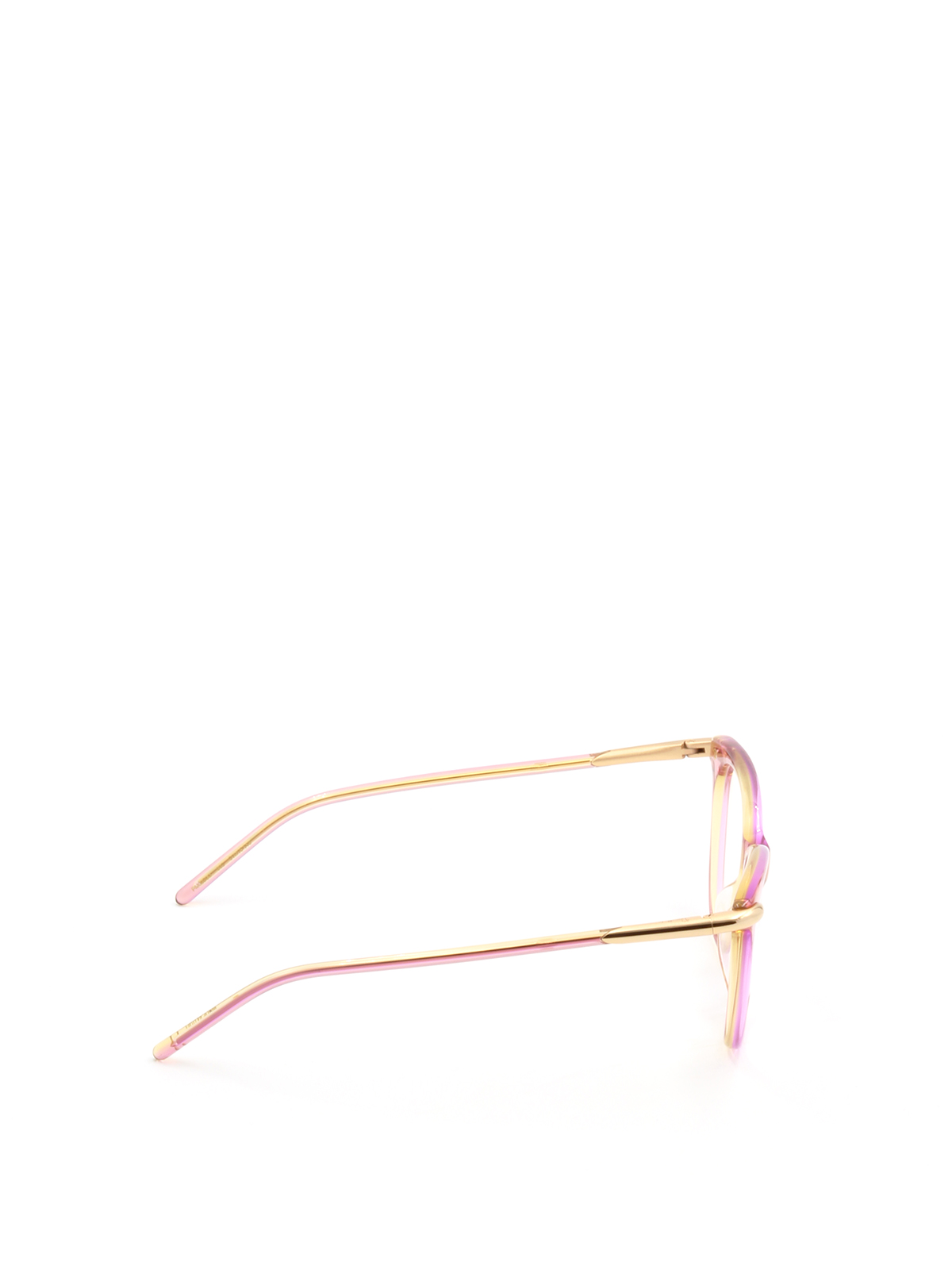 Pink and gold frame eyeglasses by Pomellato - sunglasses | Shop ...
