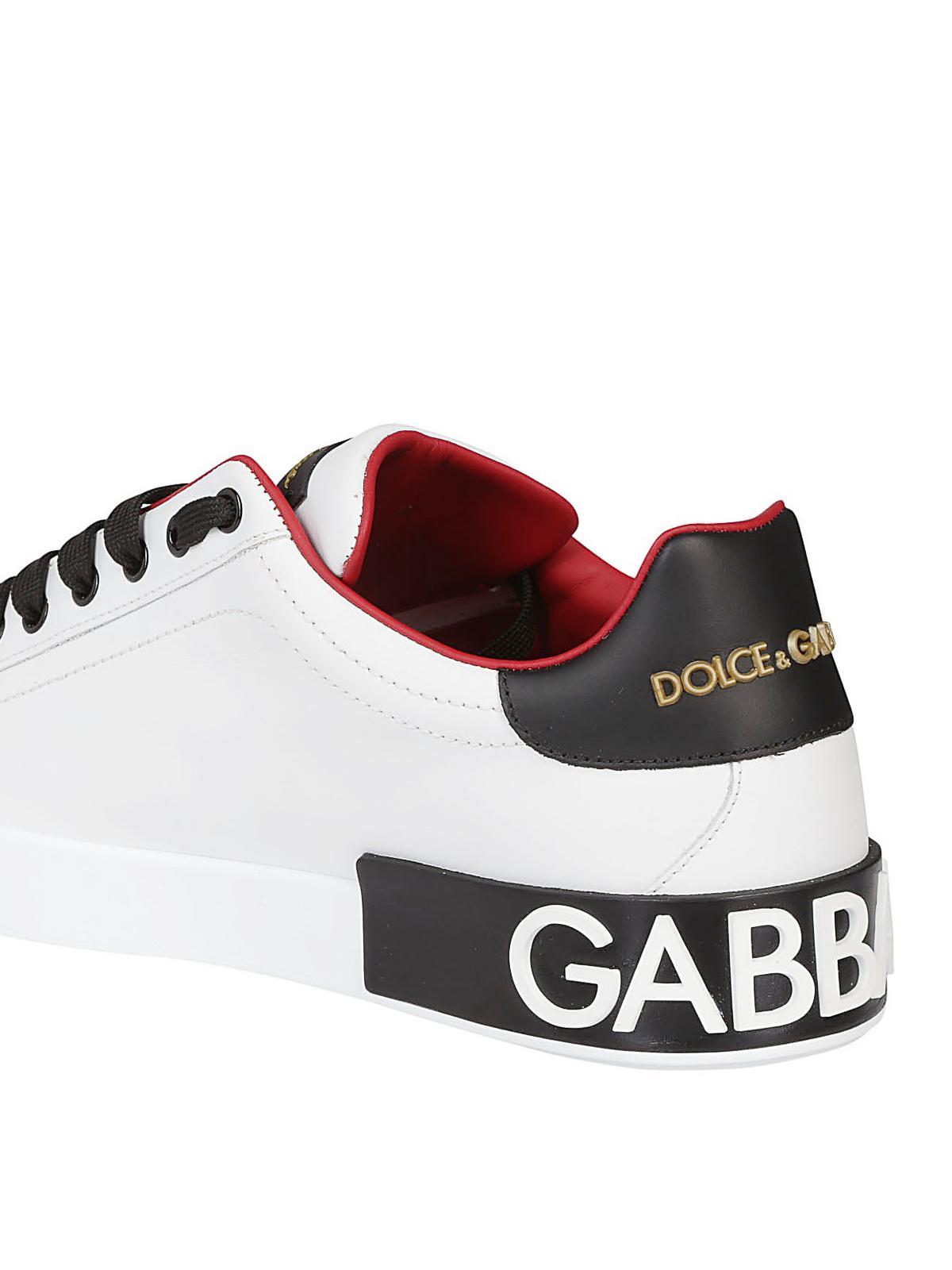 dolce and gabbana portofino sneakers