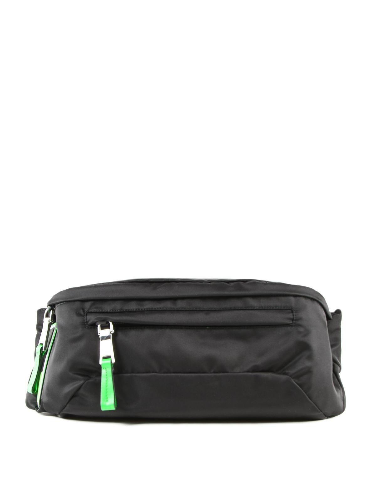 15a9c8c5222c Prada - Black tech fabric belt bag - belt bags - 2VL0082BTE XVS