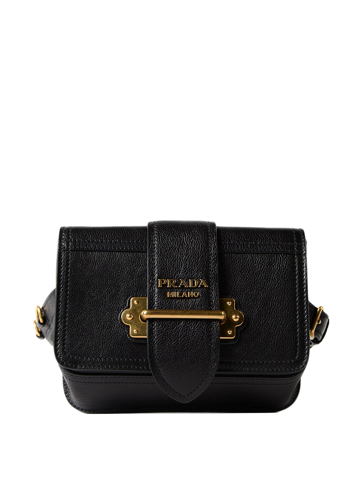 716d1697529ef Prada - Cahier leather belt bag - belt bags - 1BL004PEOVOCHOK0 ...