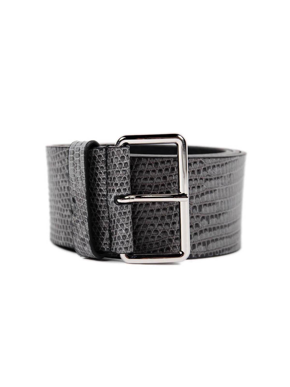 Prada - Lizard Belt - Belts - 1CM037 251 048
