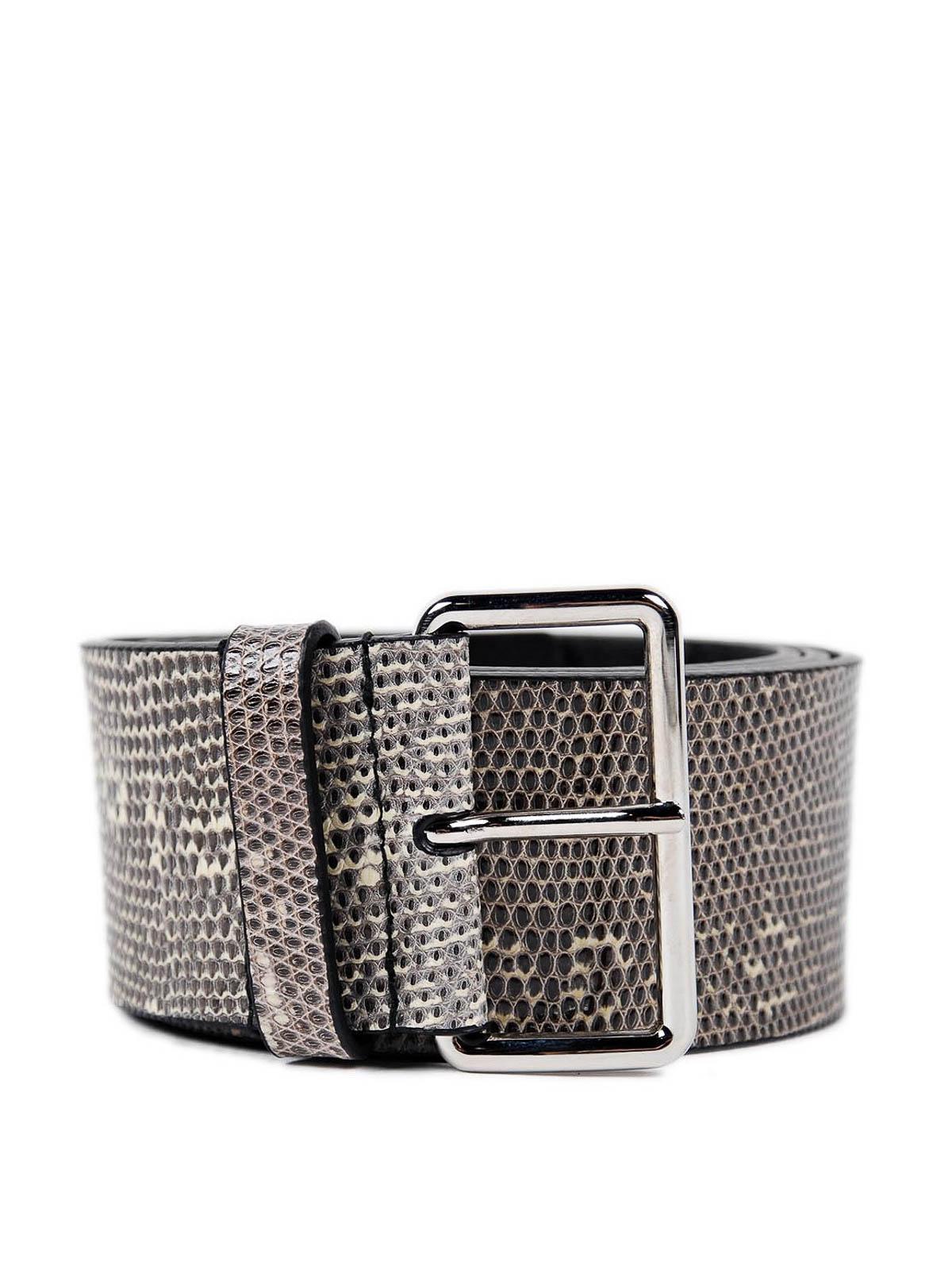 Lizard belt by Prada - belts | iKRIX