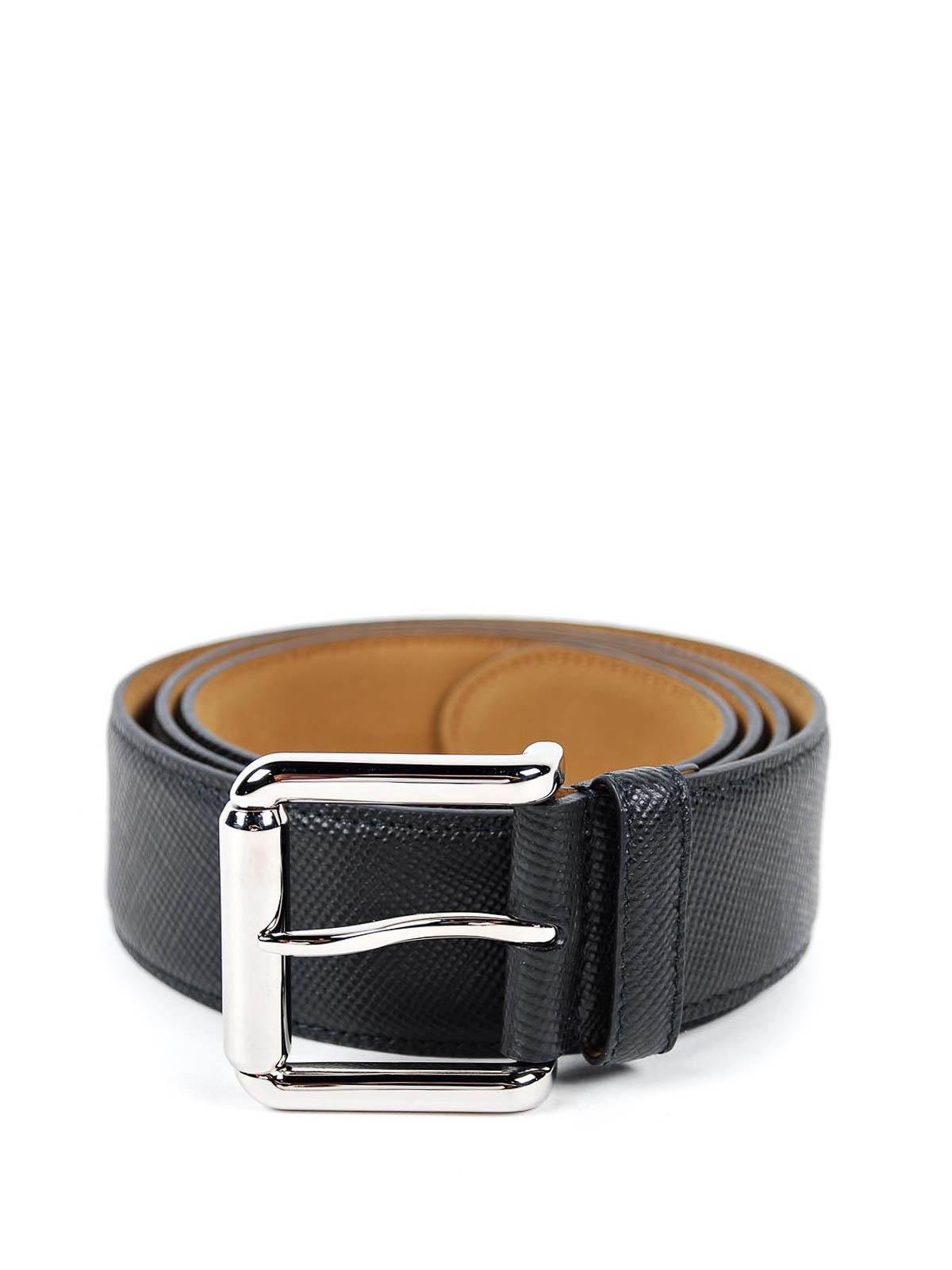 Cintura in pelle Saffiano Prada - cinture | iKRIX