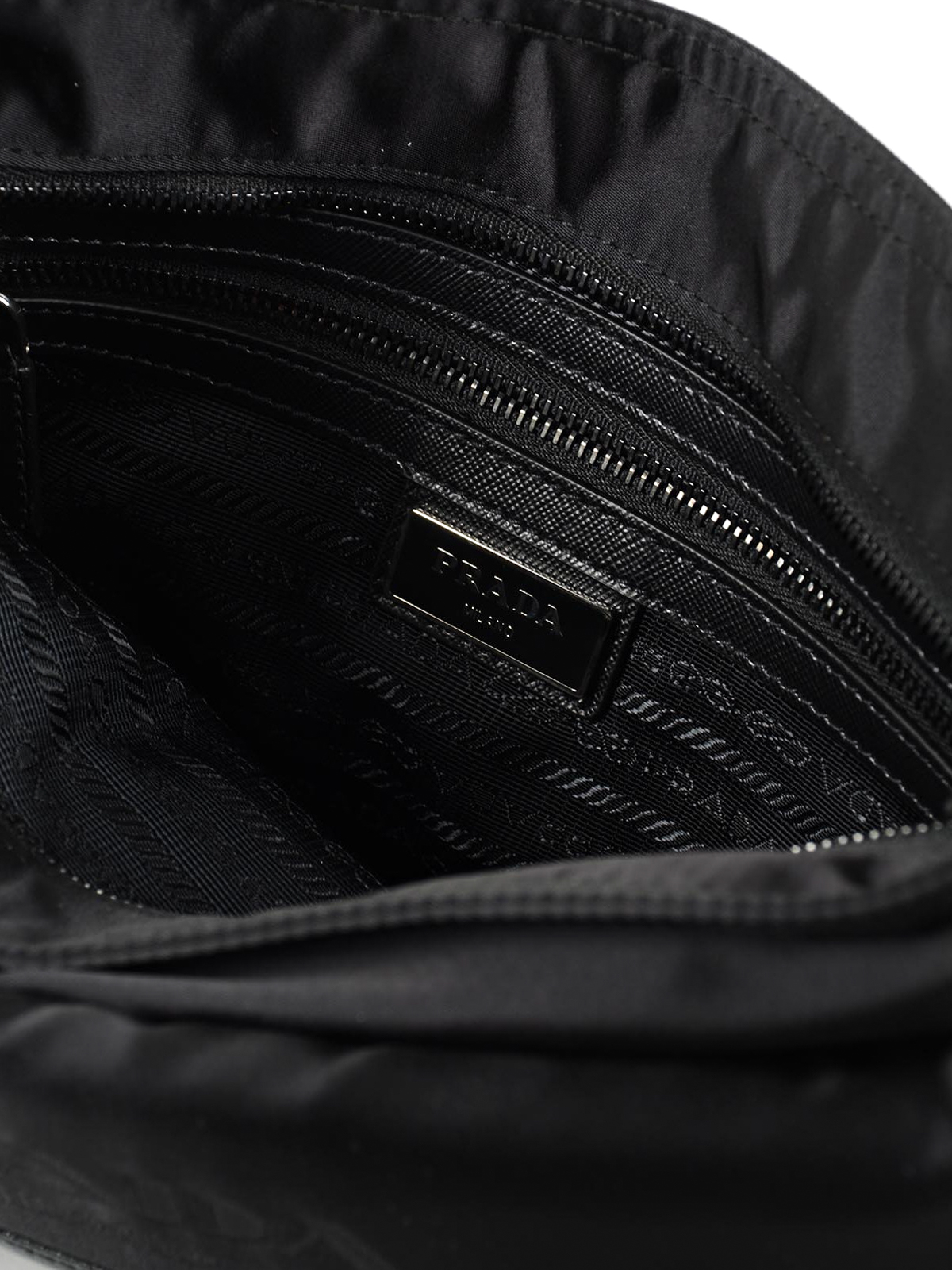 47e5320c86fd PRADA buy online Saffiano and nylon messenger bag. PRADA: shoulder bags ...
