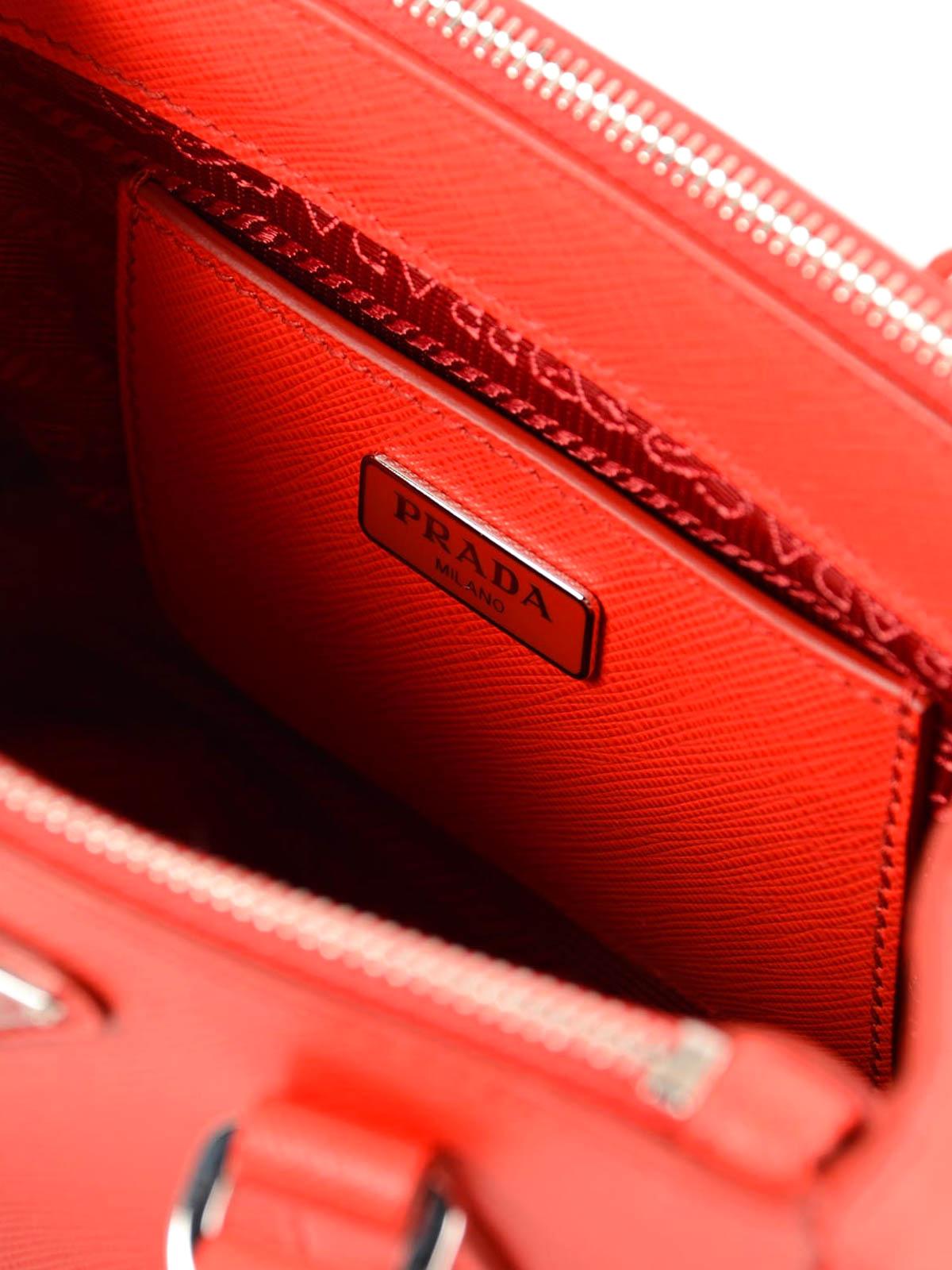 Borsa Lux in pelle saffiano Prada - borse a tracolla | iKRIX